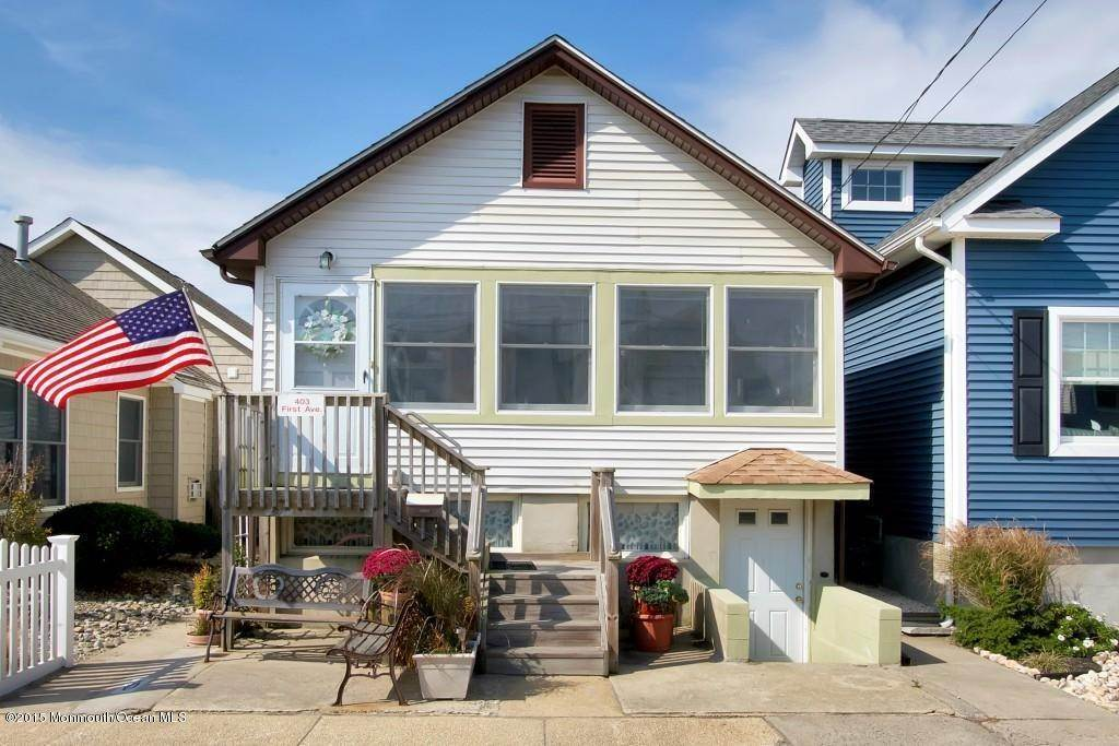 Single Family Homes at 403 First Avenue Manasquan, New Jersey 08736 United States