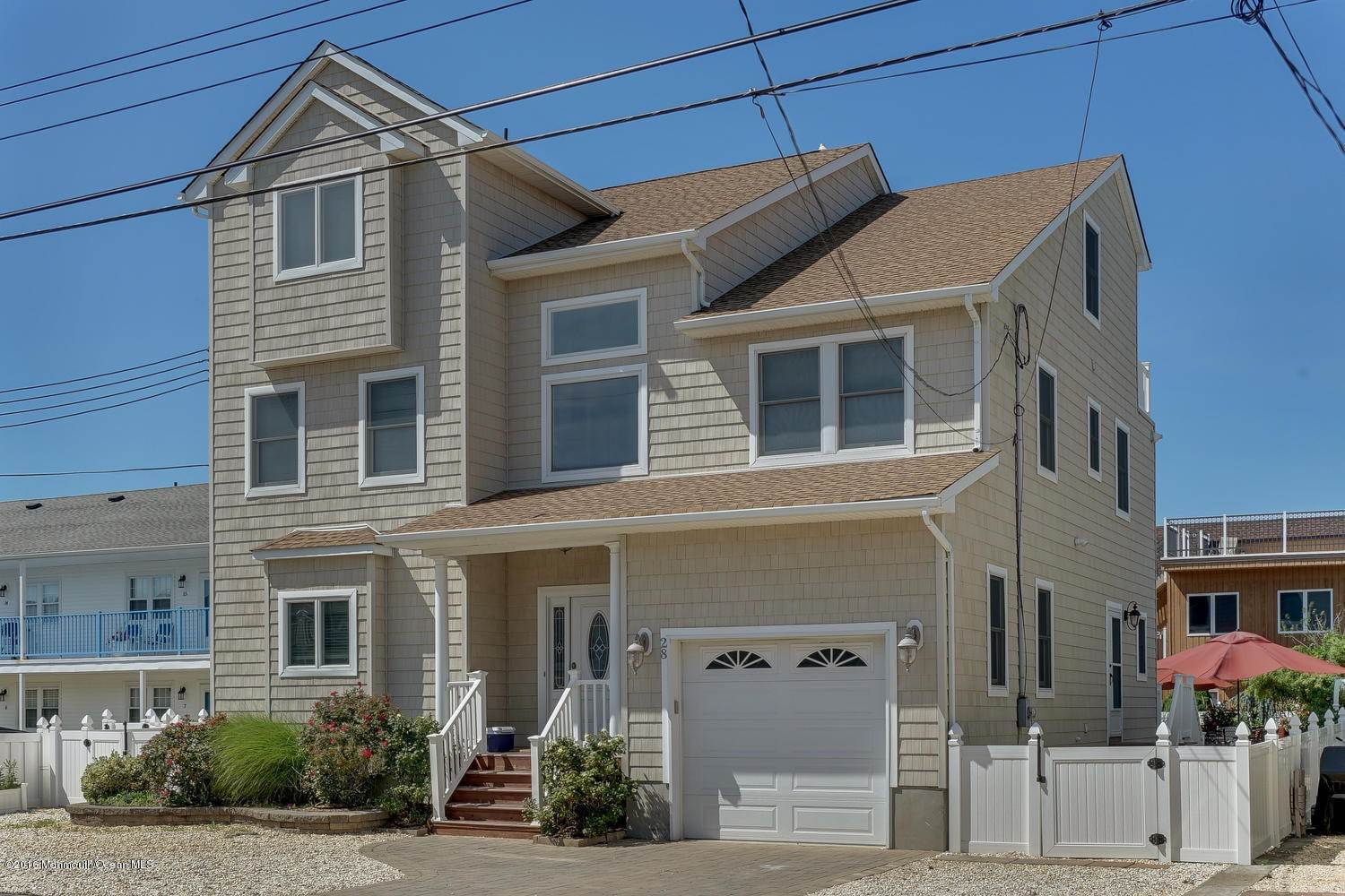 Single Family Homes for Sale at 28 1st Avenue Seaside Park, New Jersey 08752 United States