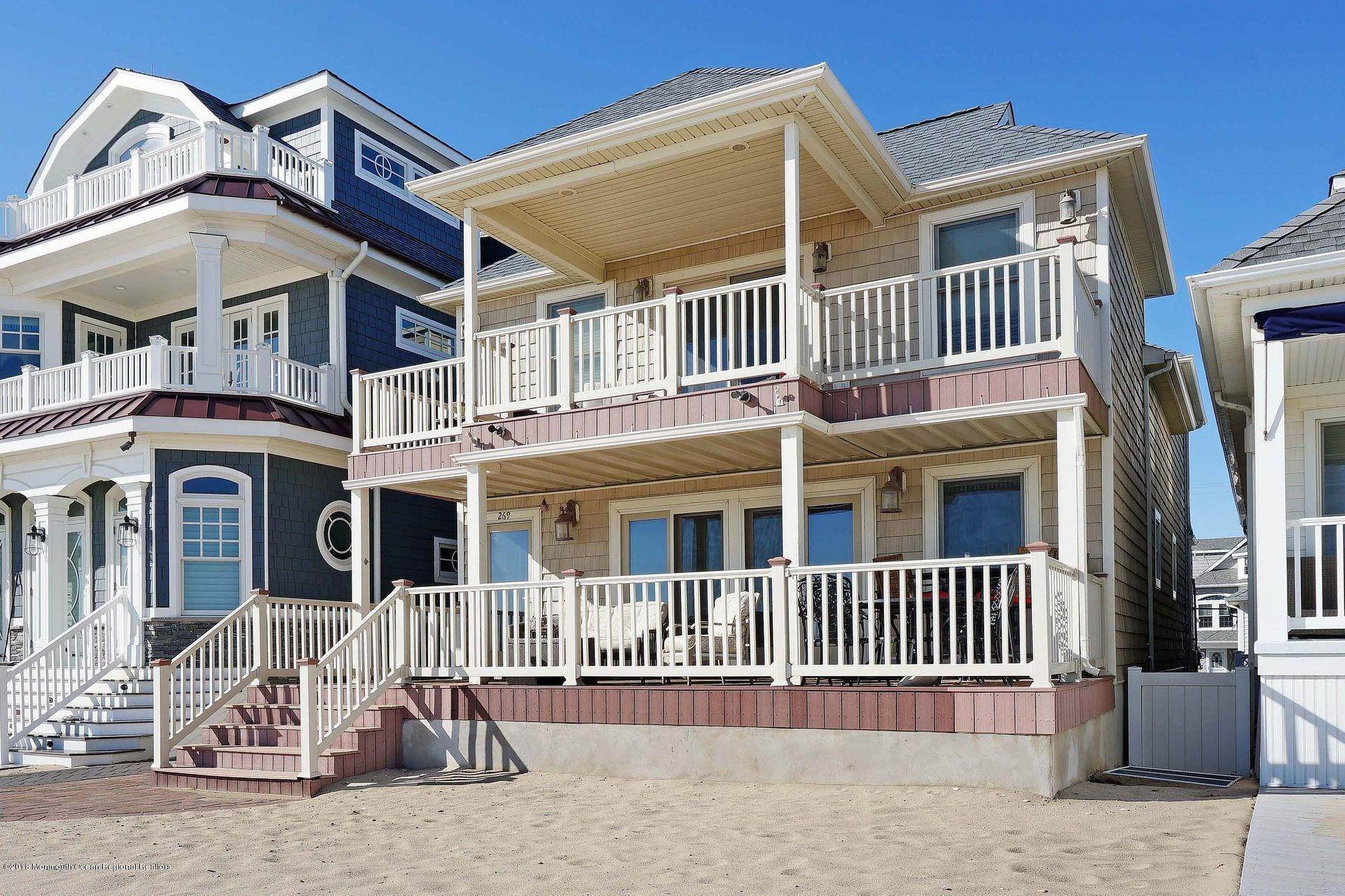 Single Family Homes at 269 Beach Front Manasquan, New Jersey 08736 United States