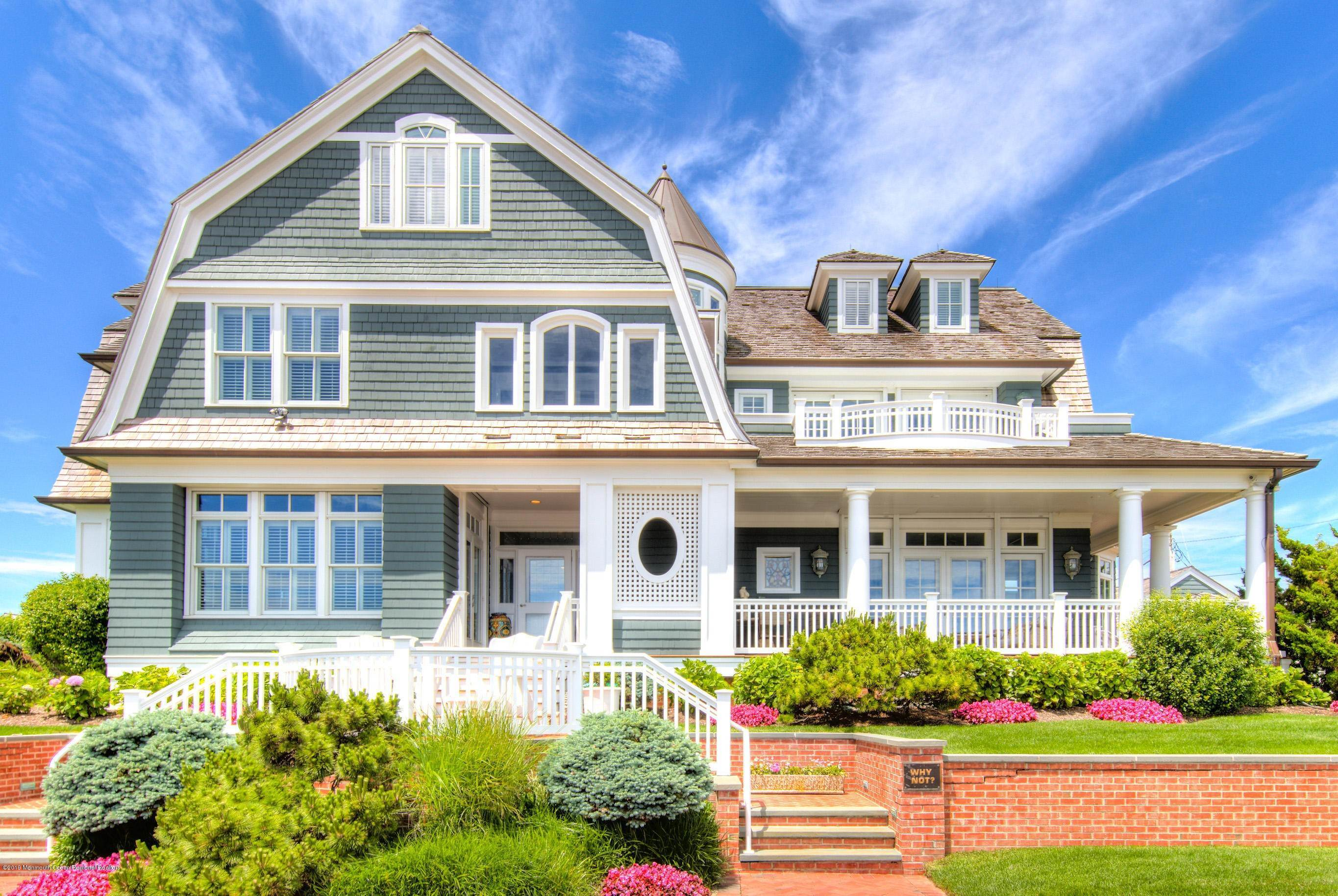 Single Family Homes at 107 Ocean Avenue Sea Girt, New Jersey 08750 United States