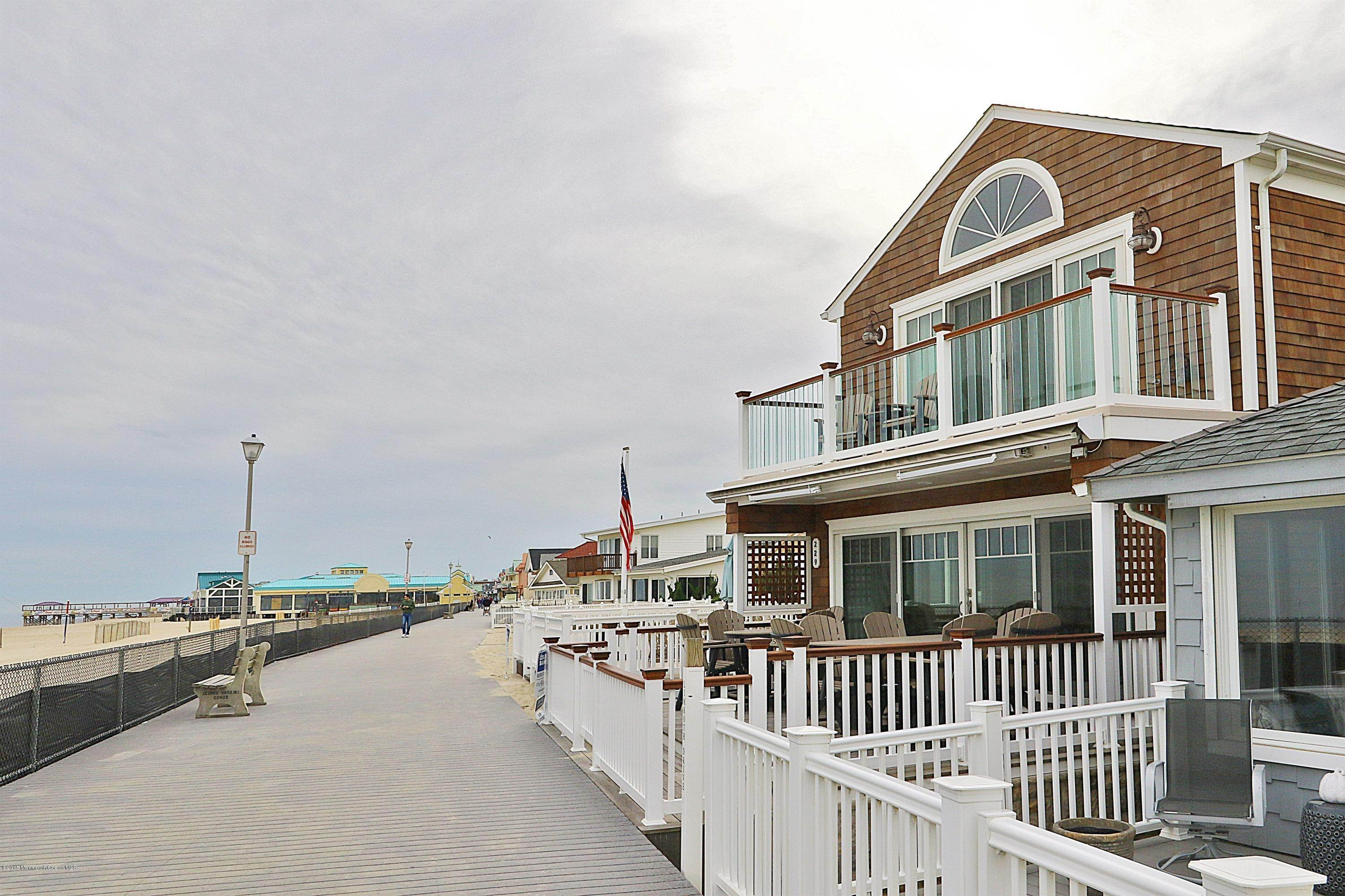33. Single Family Homes for Sale at 229 Boardwalk Point Pleasant Beach, New Jersey 08742 United States