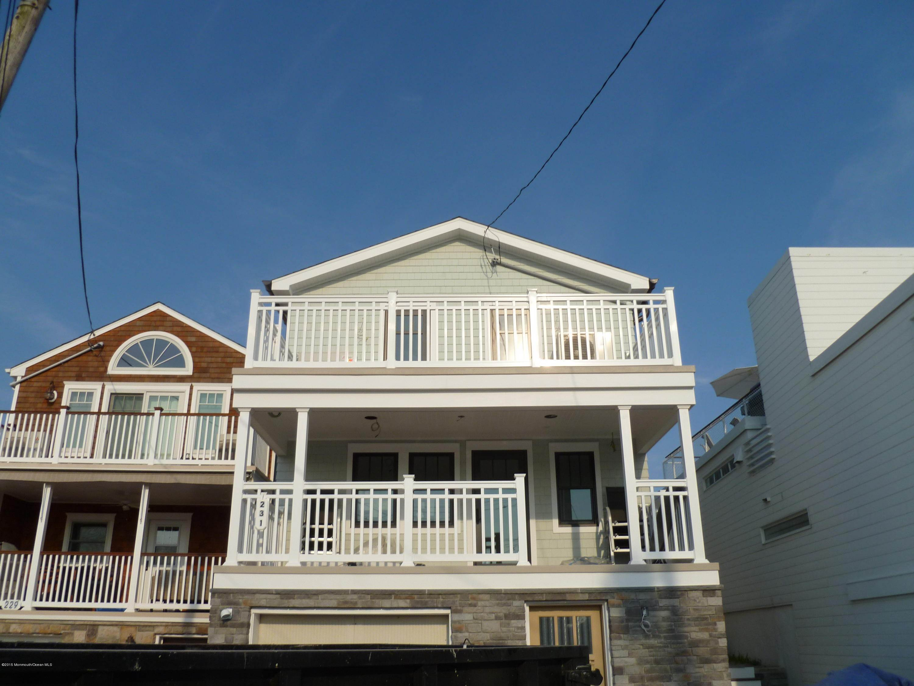 3. Single Family Homes for Sale at 231 Boardwalk Point Pleasant Beach, New Jersey 08742 United States