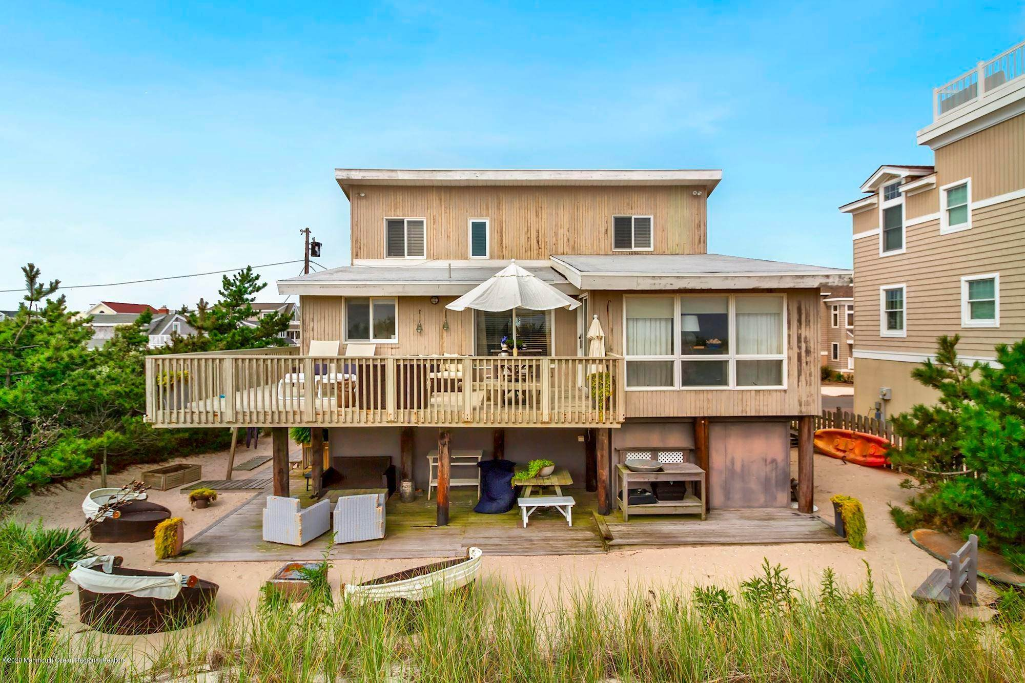 Single Family Homes for Sale at 12415 Ocean Avenue Long Beach Township, New Jersey 08008 United States