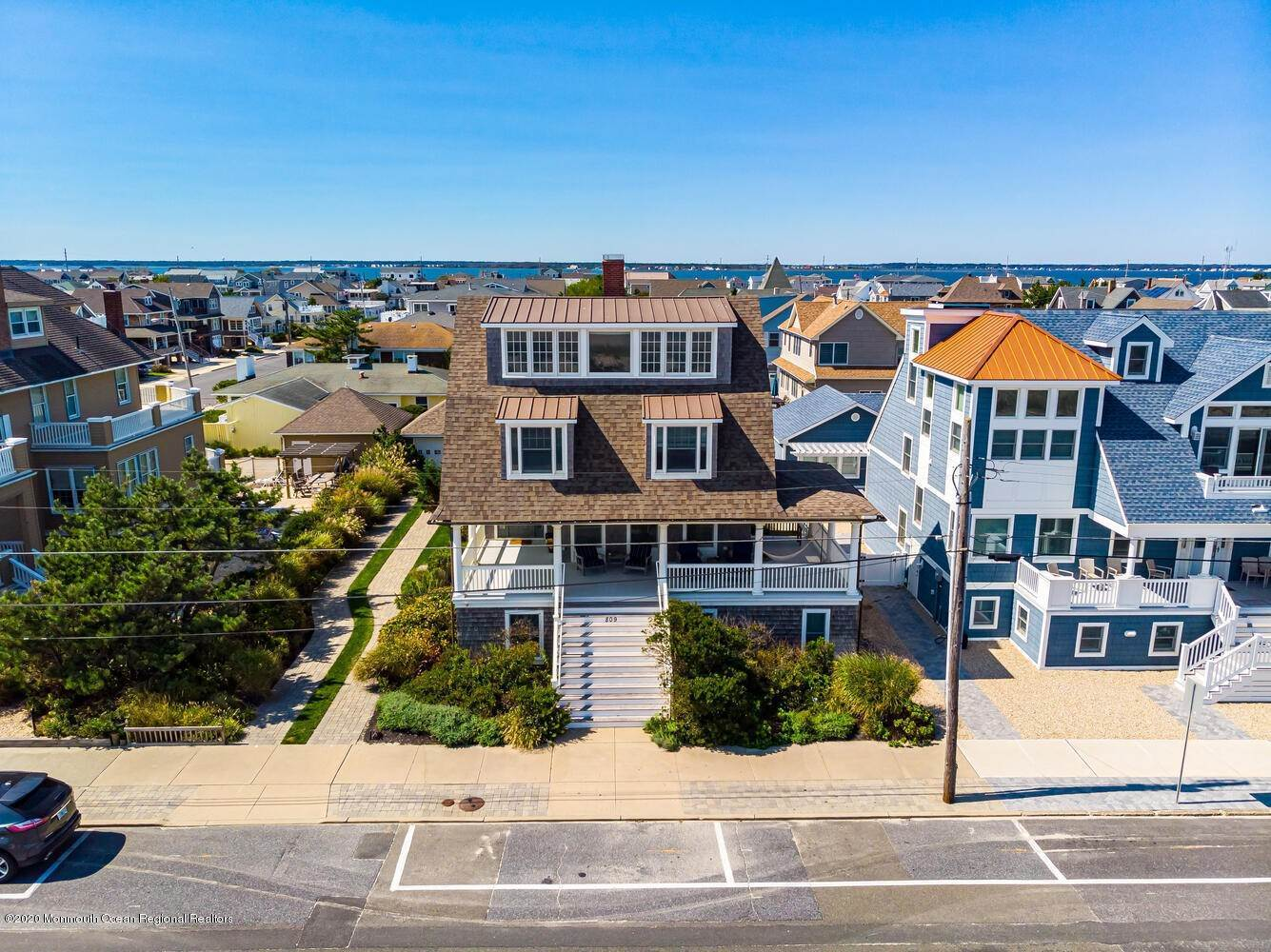 2. Single Family Homes for Sale at 809 Ocean Avenue Seaside Park, New Jersey 08752 United States