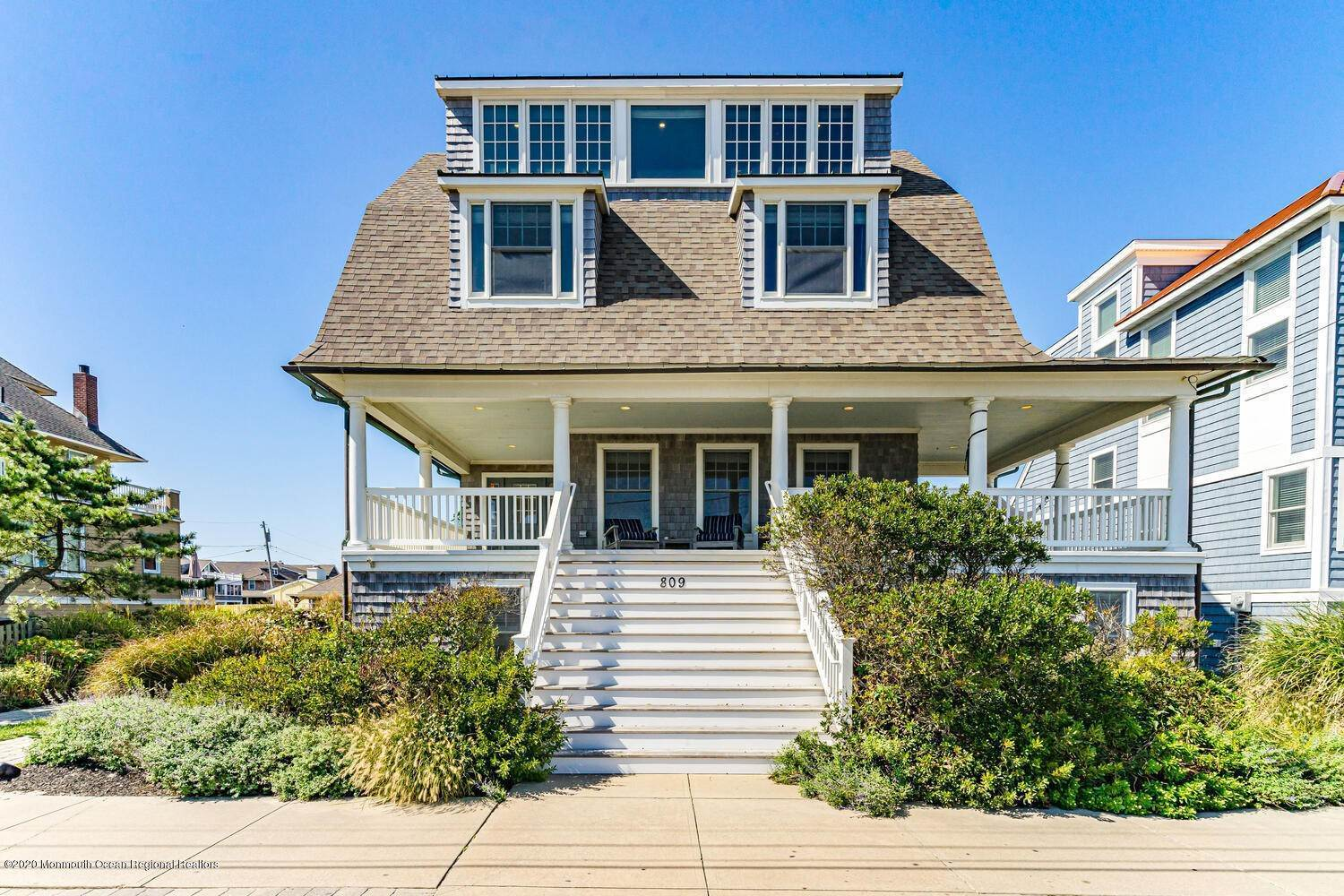 Single Family Homes for Sale at 809 Ocean Avenue Seaside Park, New Jersey 08752 United States