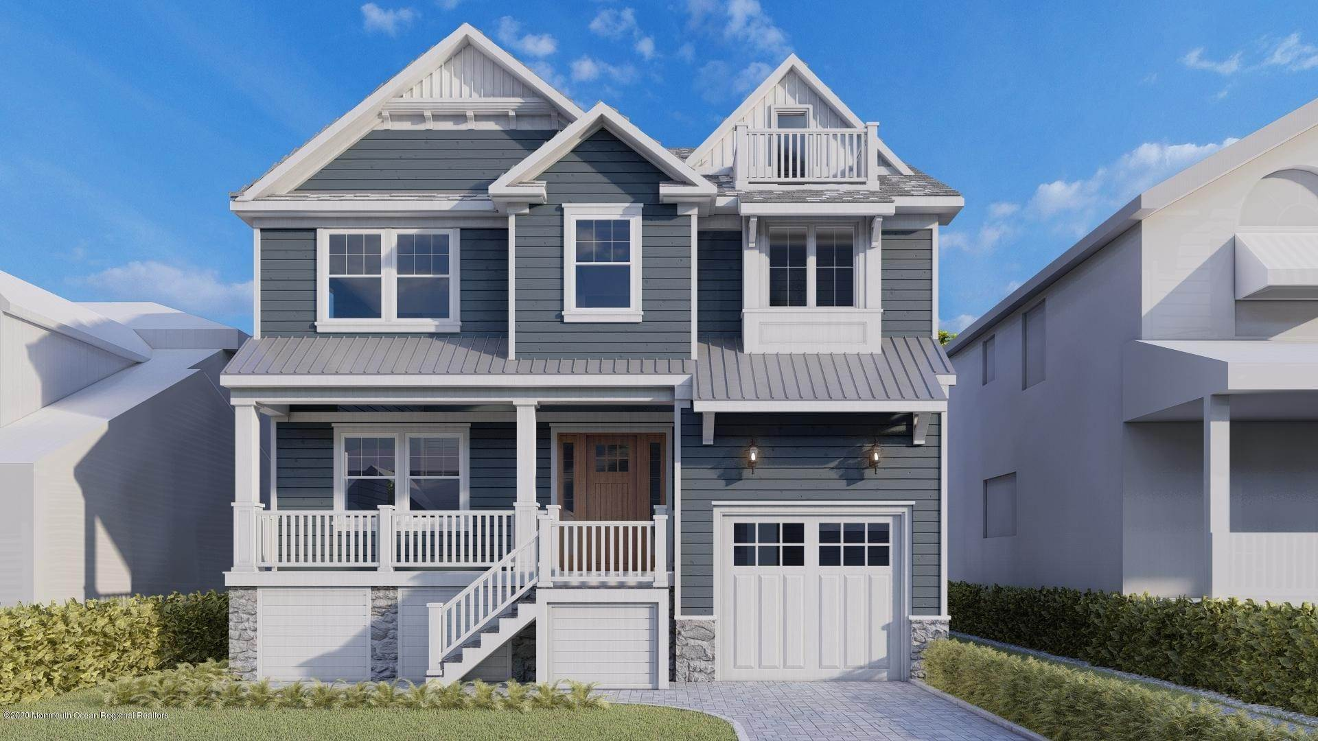 Single Family Homes for Sale at 205 Harvard Avenue Point Pleasant Beach, New Jersey 08742 United States
