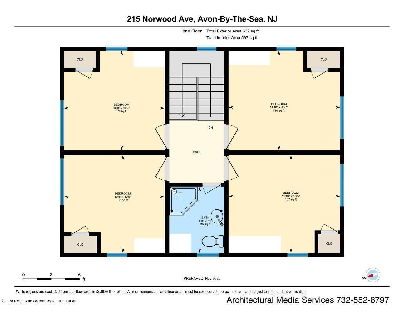 29. Single Family Homes for Sale at 215 Norwood Avenue Avon by the Sea, New Jersey 07717 United States