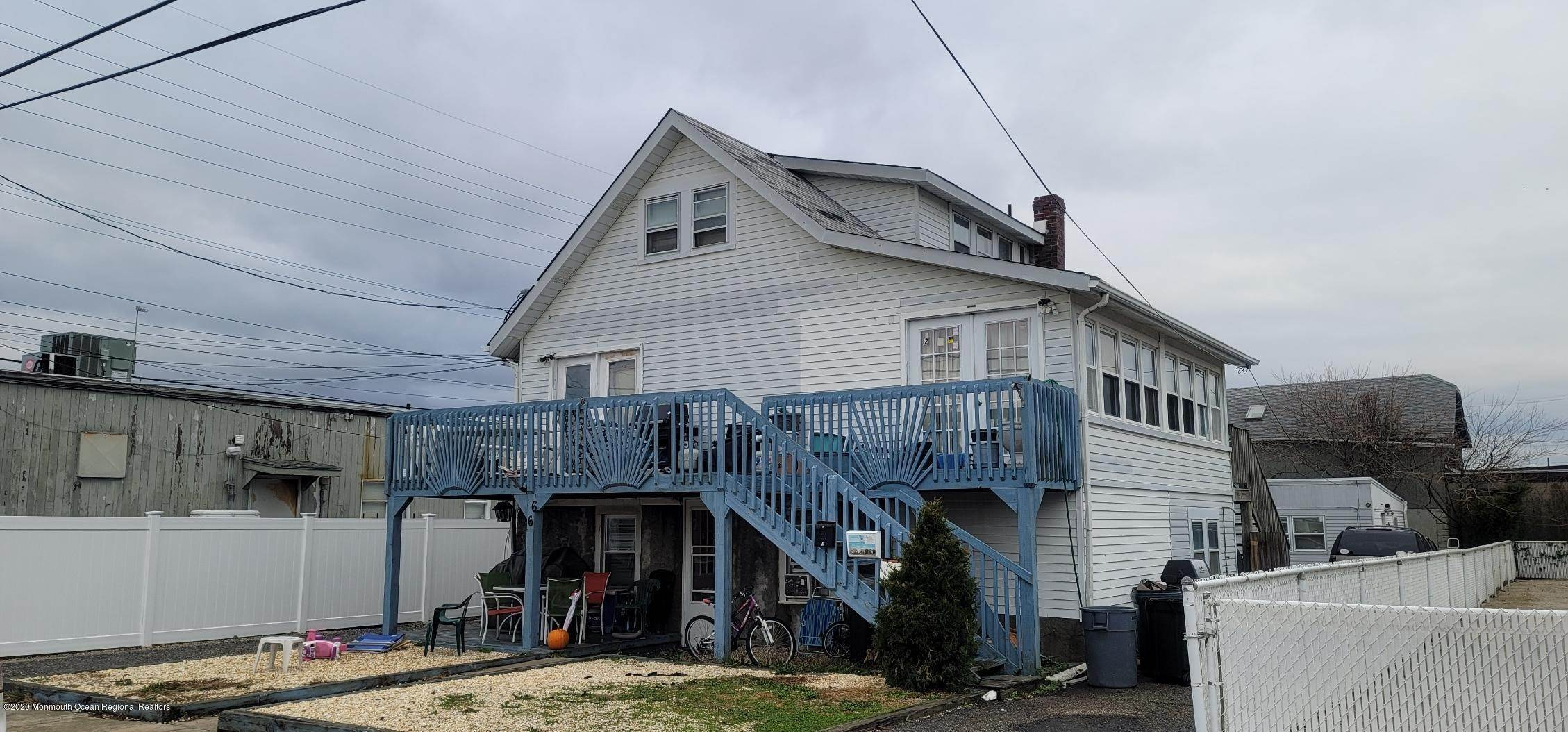 2. Multi-Family Homes for Sale at 66 I Street Seaside Park, New Jersey 08752 United States