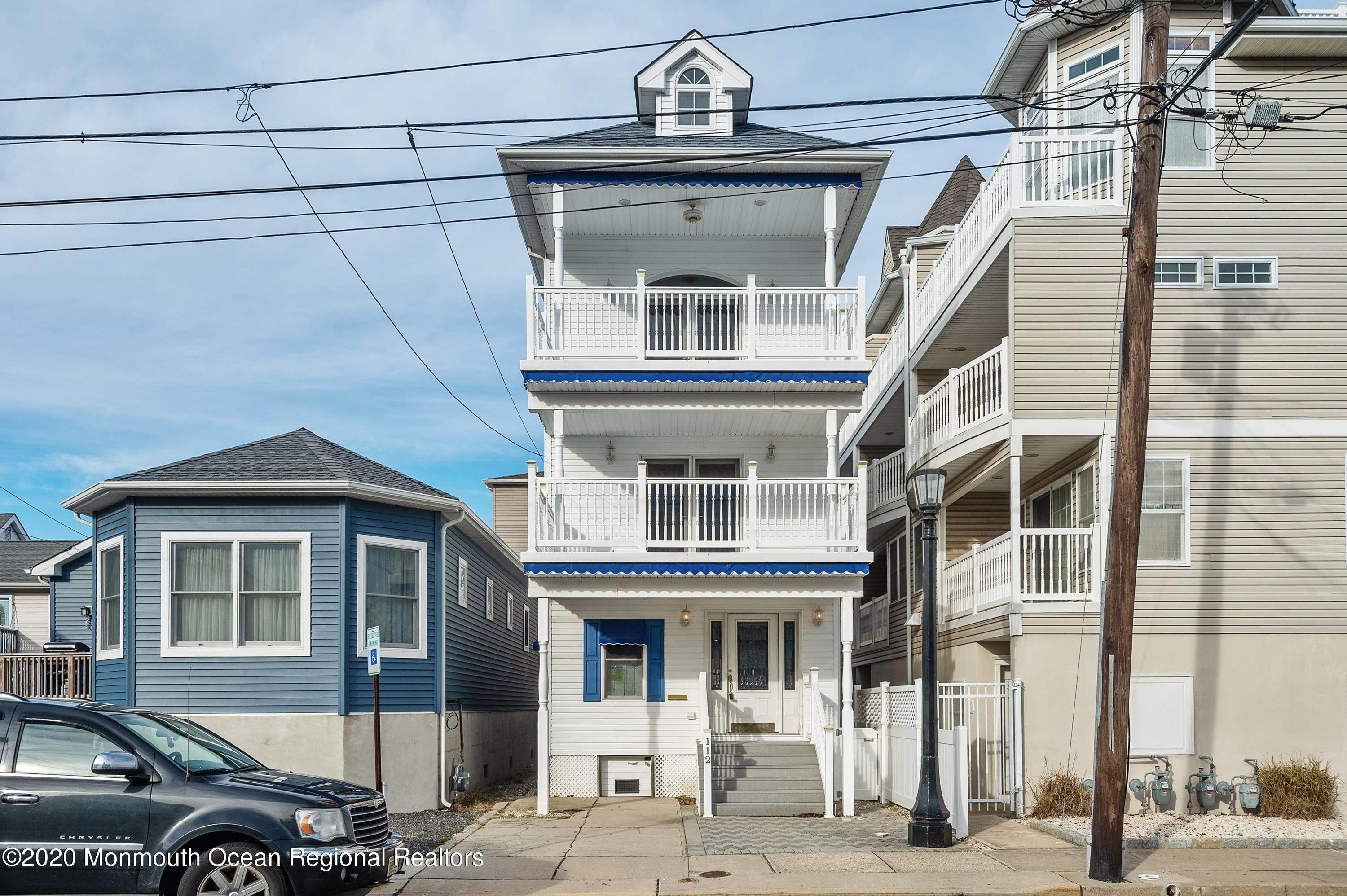Single Family Homes for Sale at 112 Kearney Avenue Seaside Heights, New Jersey 08751 United States