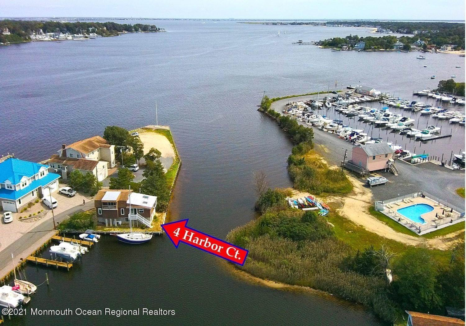 Property for Sale at 4 Harbor Court Pine Beach, New Jersey 08741 United States