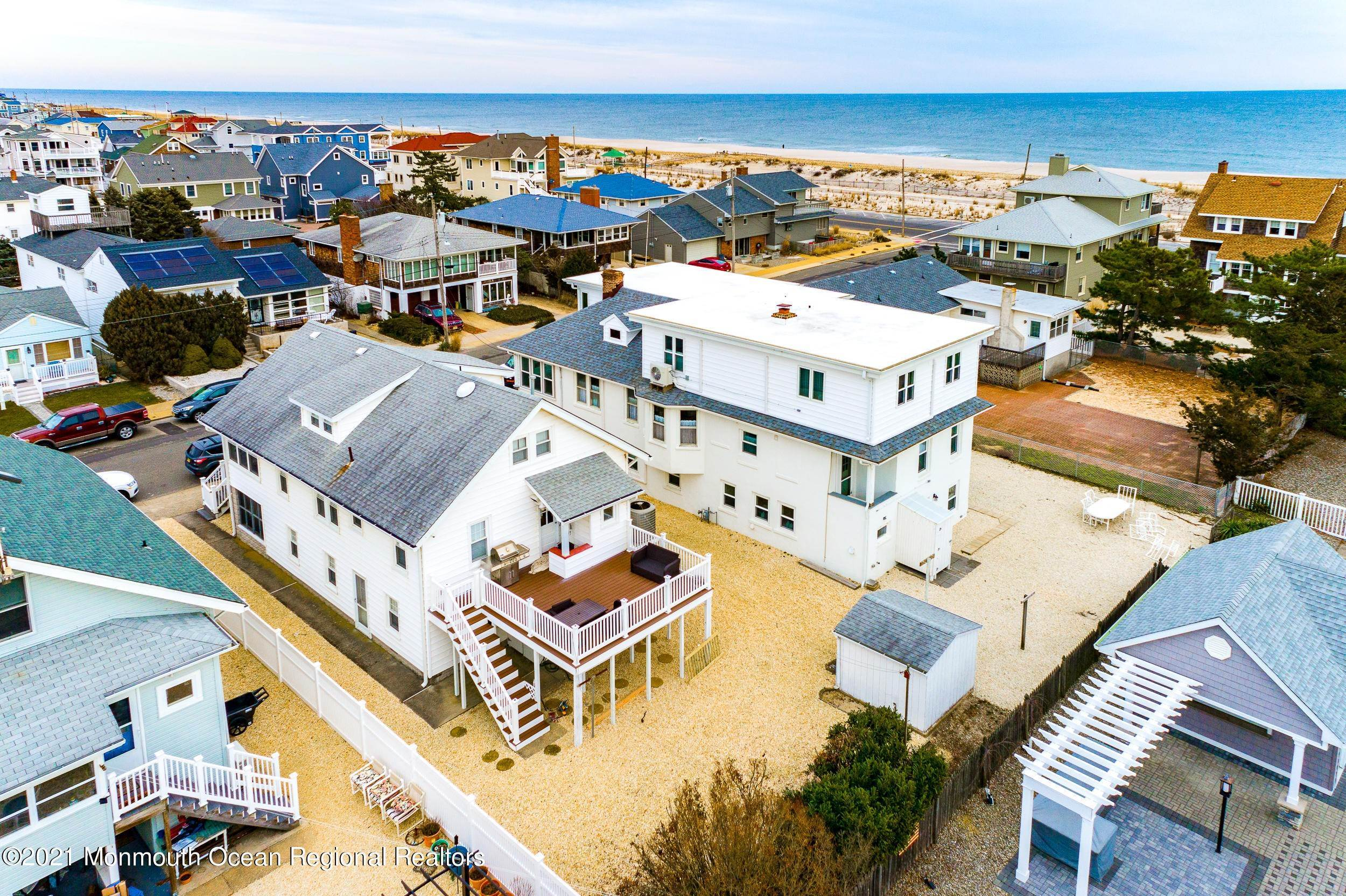 35. Multi-Family Homes for Sale at 17 I Street Seaside Park, New Jersey 08752 United States