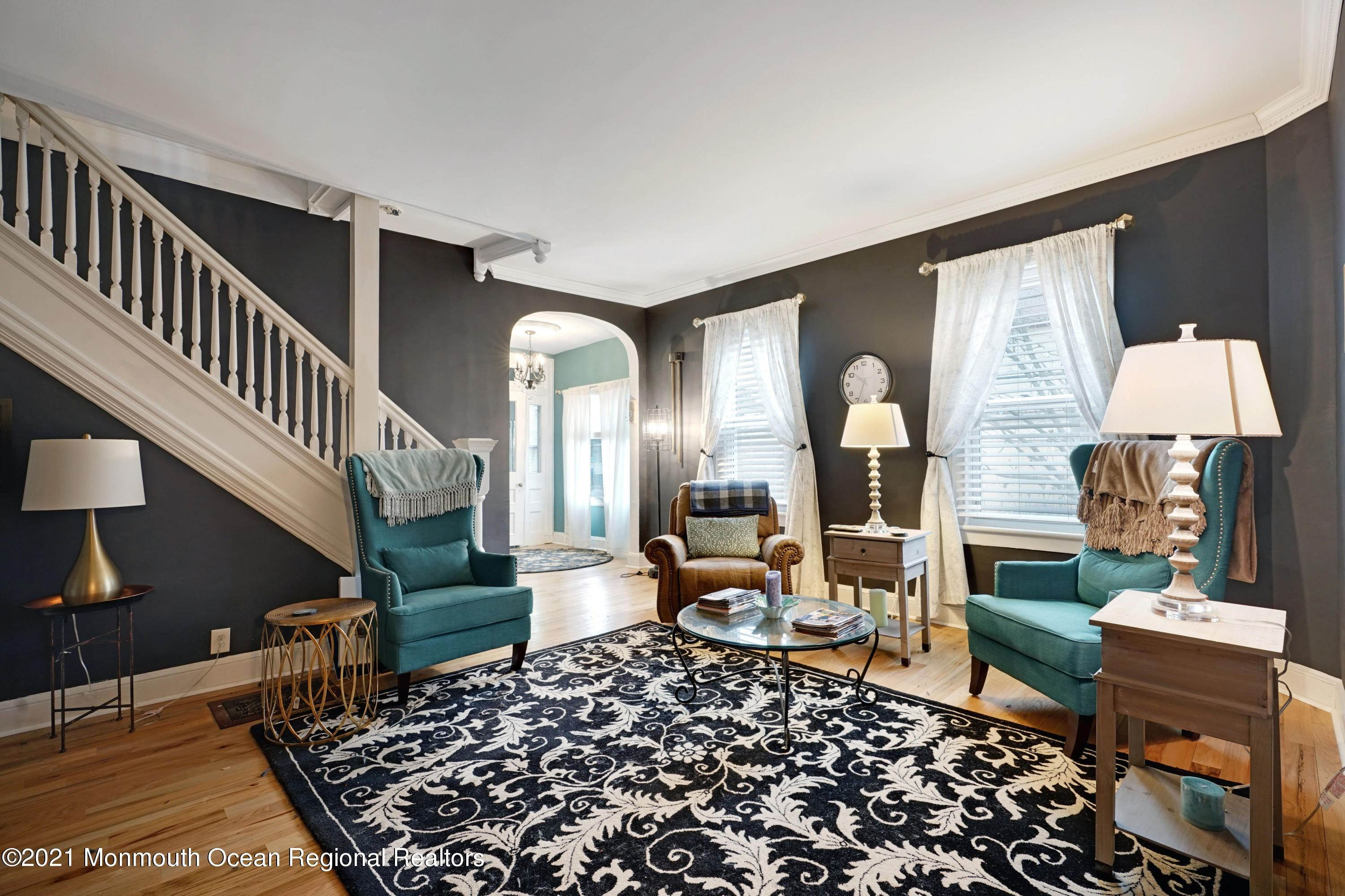 4. Single Family Homes for Sale at 621 Sewall Avenue Asbury Park, New Jersey 07712 United States