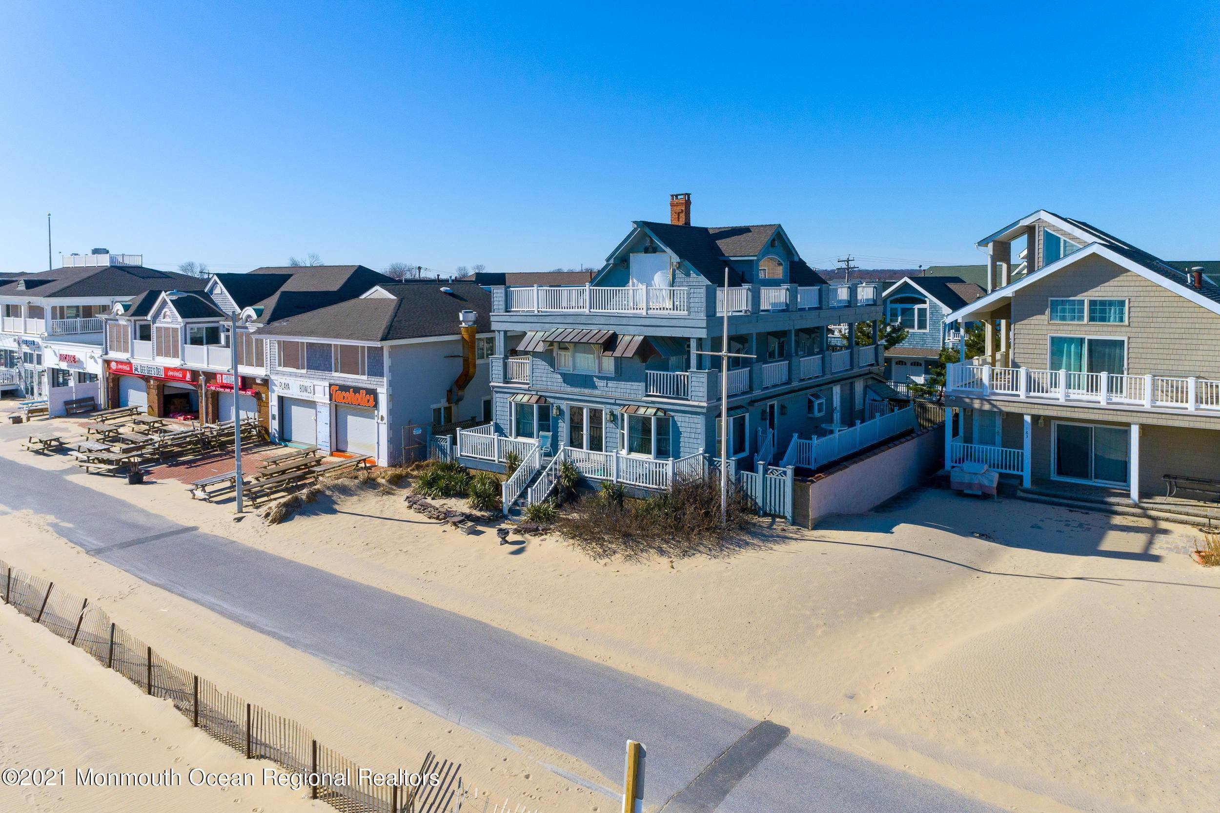 Single Family Homes for Sale at 189 Beach Front Manasquan, New Jersey 08736 United States