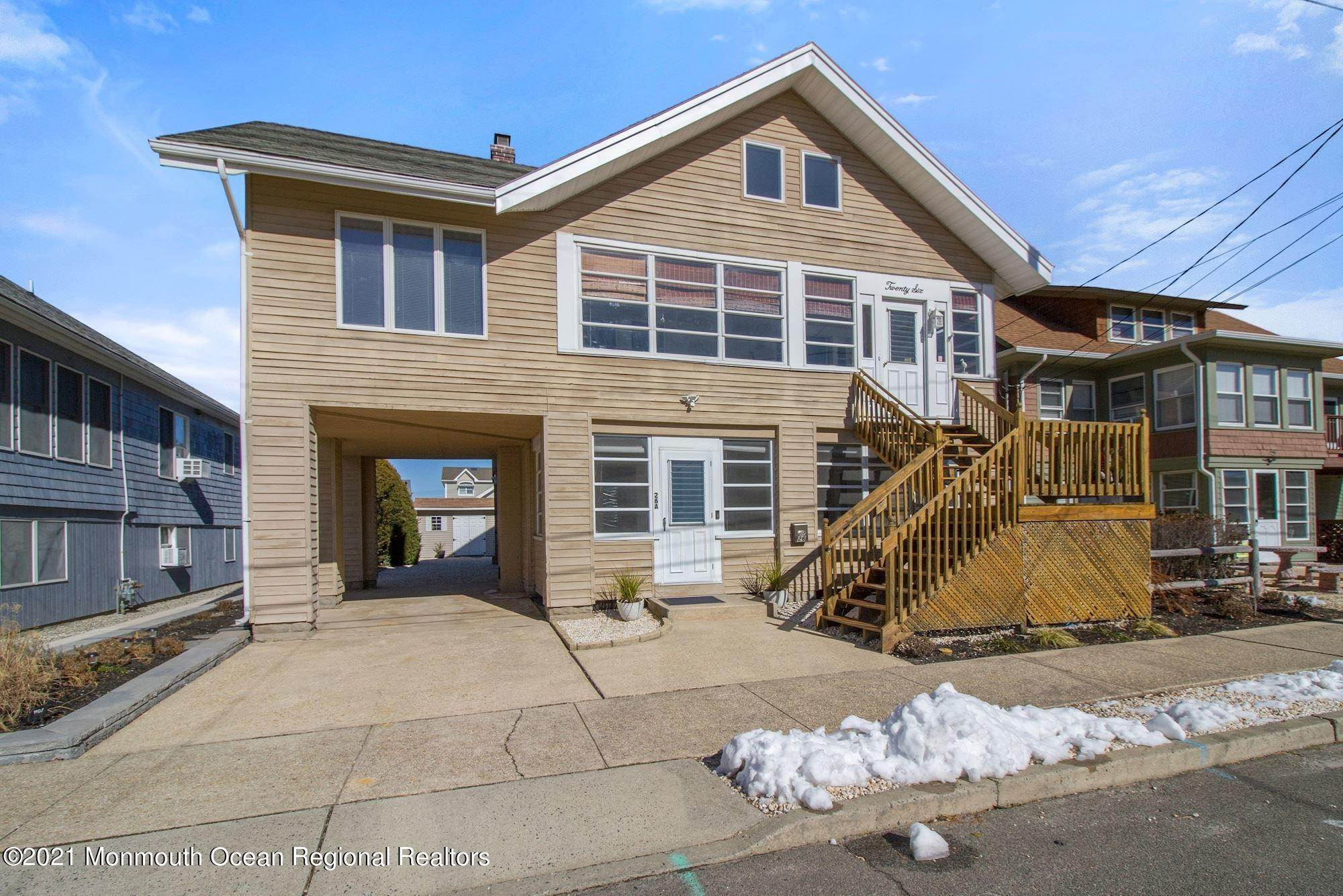 39. Multi-Family Homes for Sale at 26 G Street Seaside Park, New Jersey 08752 United States