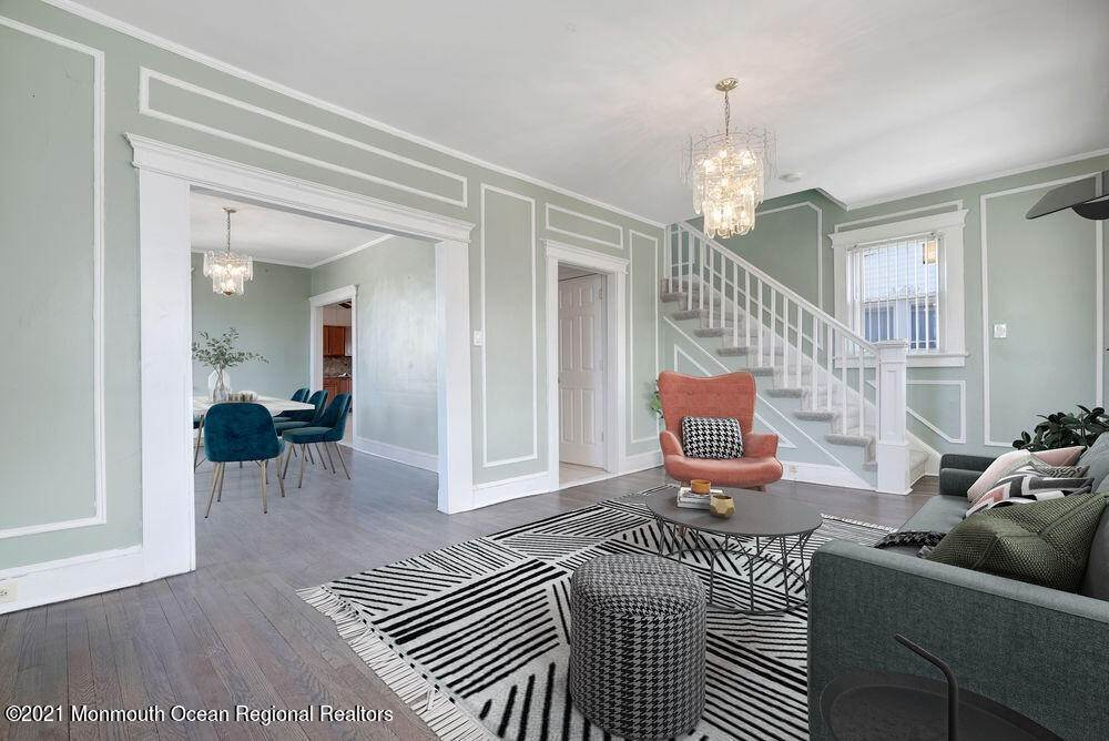 16. Single Family Homes for Sale at 1415 Asbury Avenue Asbury Park, New Jersey 07712 United States