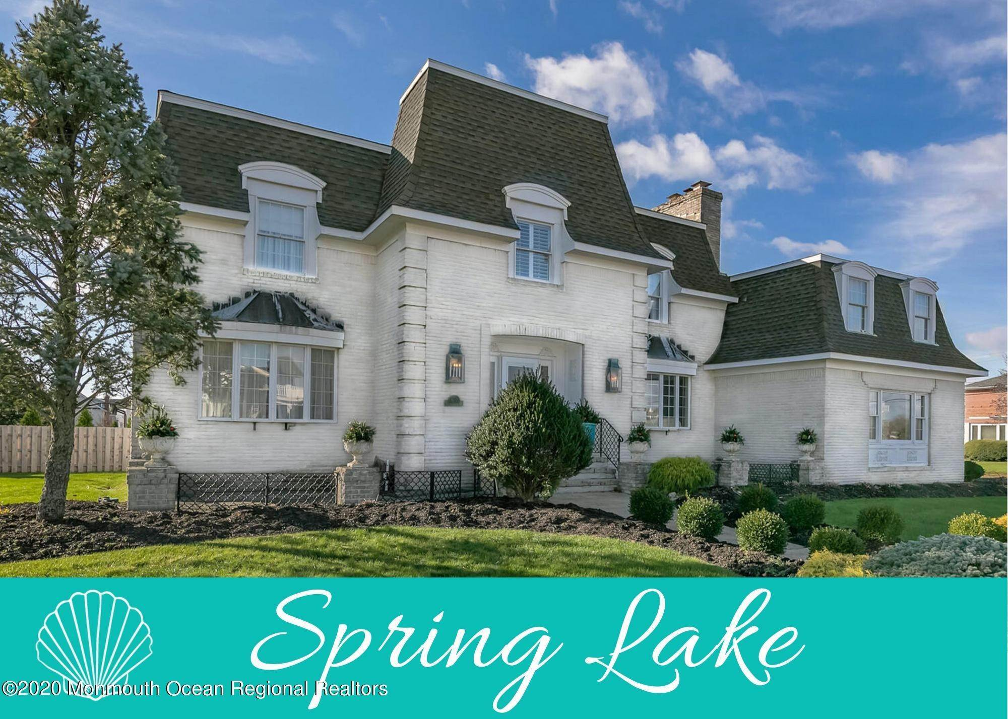 Single Family Homes for Sale at 1 Monmouth Shire Lane Spring Lake, New Jersey 07762 United States