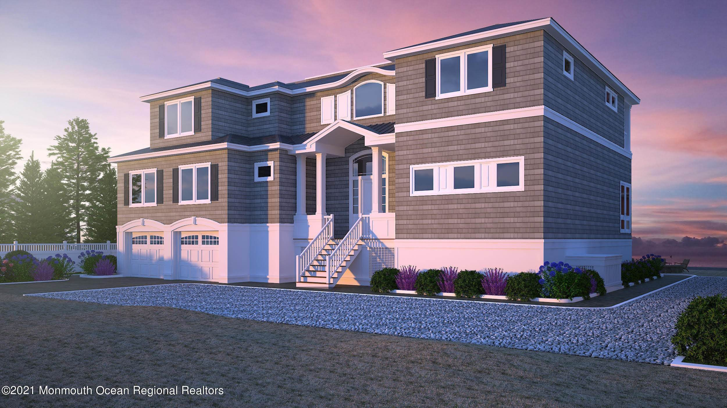 Single Family Homes for Sale at 191 Nautilus Drive Long Beach Township, New Jersey 08008 United States