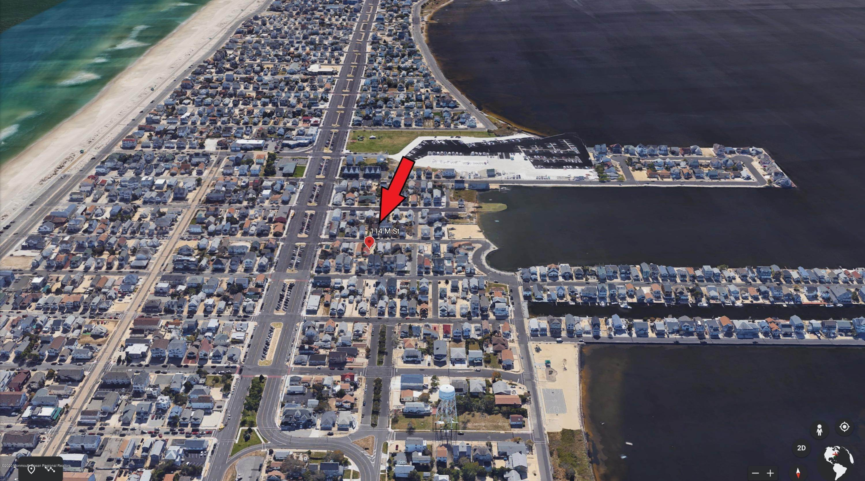 27. Single Family Homes for Sale at 114 M Street Seaside Park, New Jersey 08752 United States
