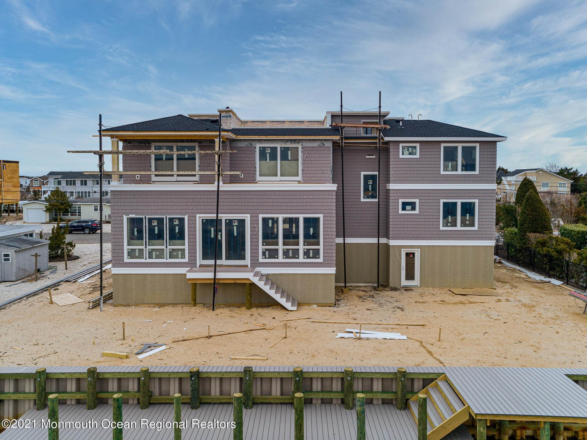 18. Single Family Homes for Sale at 191 Nautilus Drive Long Beach Township, New Jersey 08008 United States