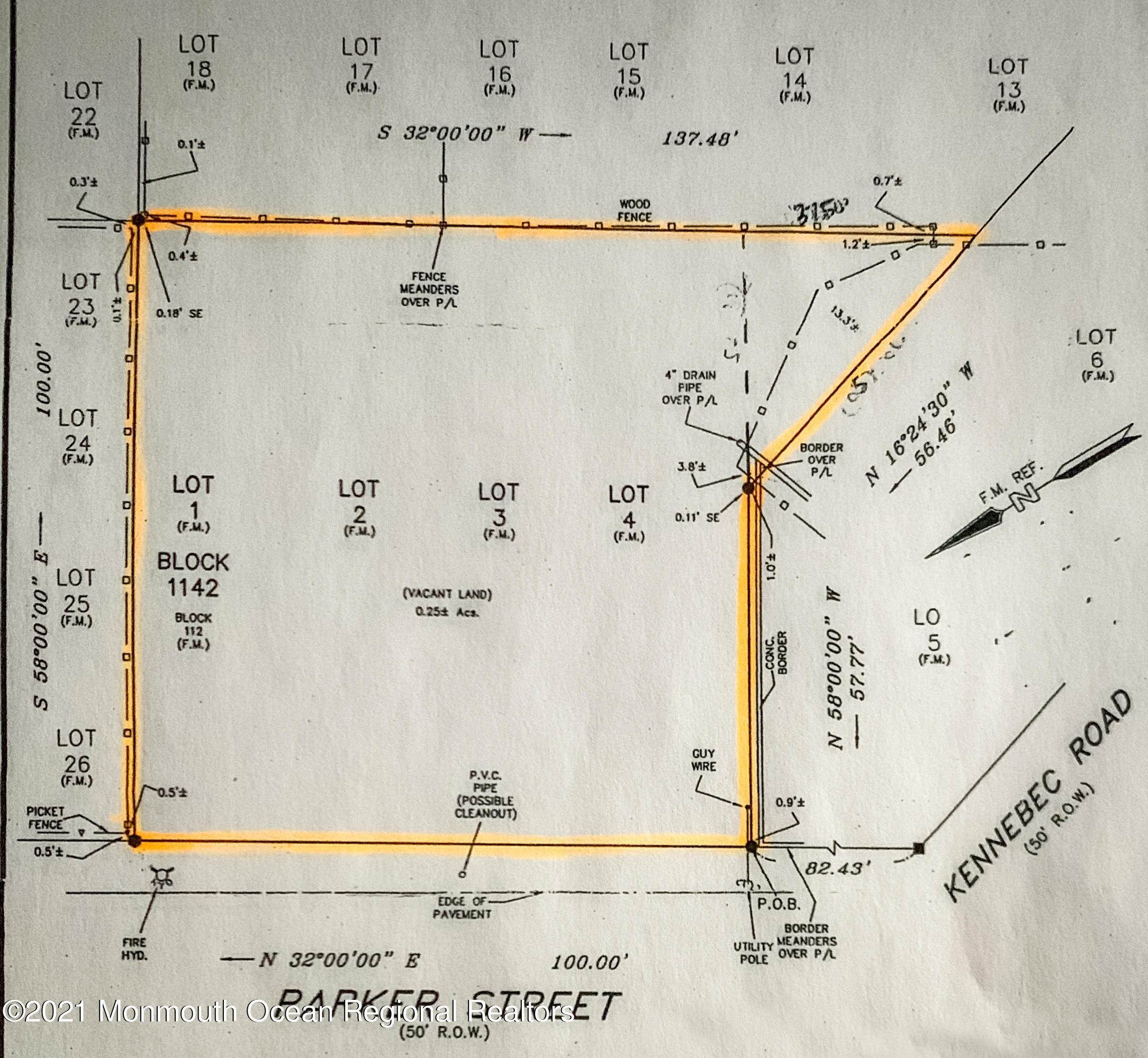5. Land for Sale at Parker Street Forked River, New Jersey 08731 United States
