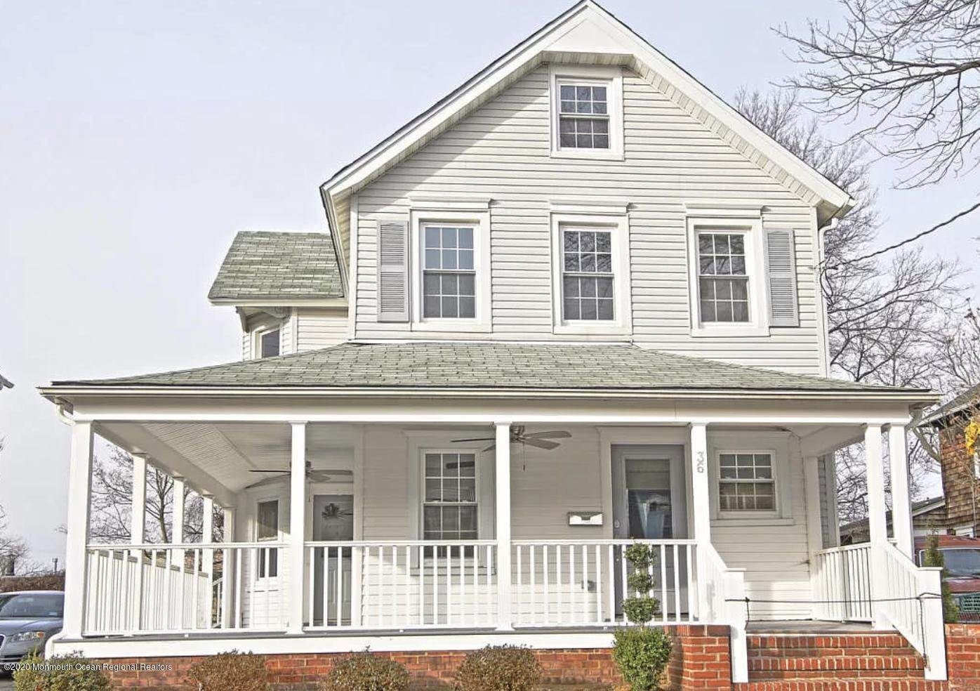 28. Single Family Homes for Sale at 36 Slocum Place Long Branch, New Jersey 07740 United States
