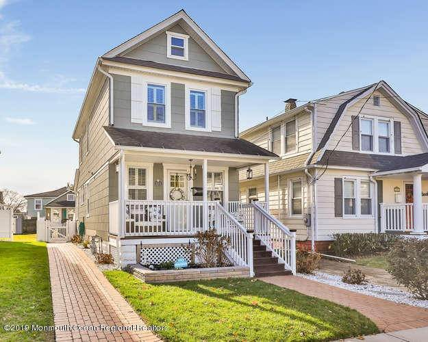 Single Family Homes for Sale at 503 1/2 Monmouth Avenue Bradley Beach, New Jersey 07720 United States