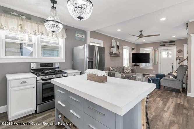 12. Single Family Homes for Sale at 503 1/2 Monmouth Avenue Bradley Beach, New Jersey 07720 United States