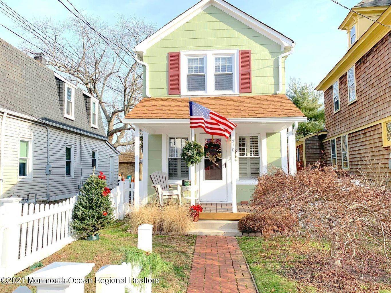 13. Single Family Homes for Sale at 510 Cramer Avenue Point Pleasant Beach, New Jersey 08742 United States