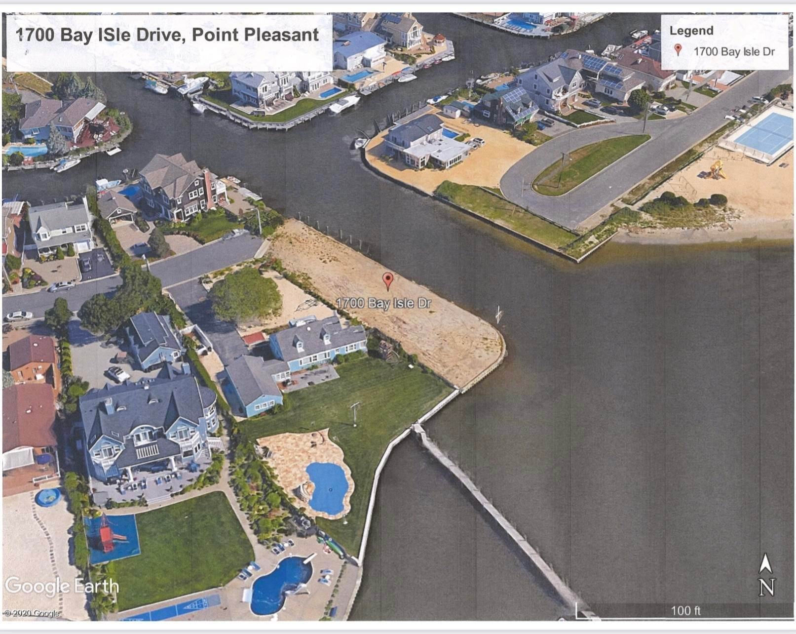 Land for Sale at 1700 Bay Isle Drive Point Pleasant, New Jersey 08742 United States