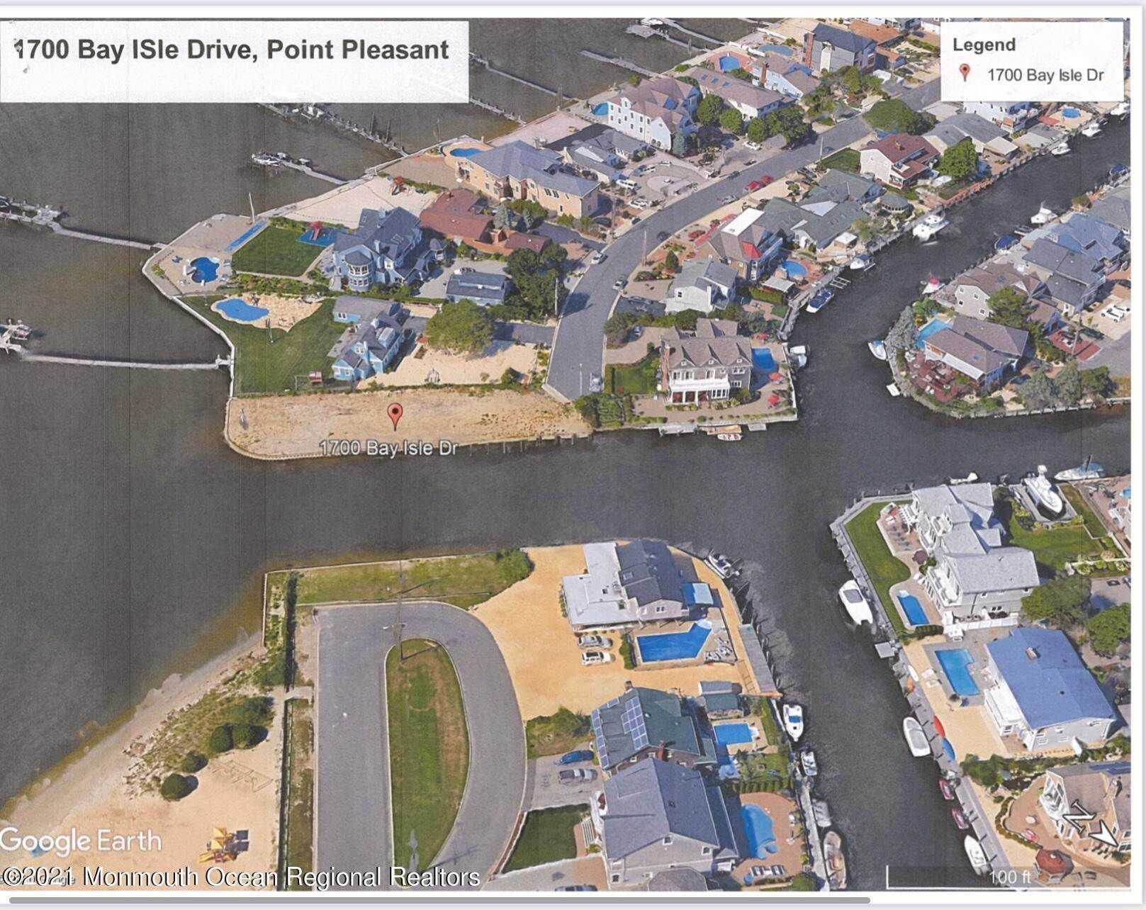 2. Land for Sale at 1700 Bay Isle Drive Point Pleasant, New Jersey 08742 United States