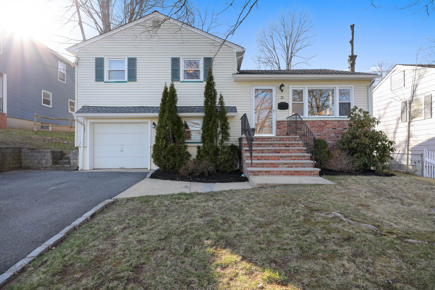 Single Family Homes for Sale at Sun-Filled And Spacious Summit Split Level 32 Clark Street Summit, New Jersey 07901 United States