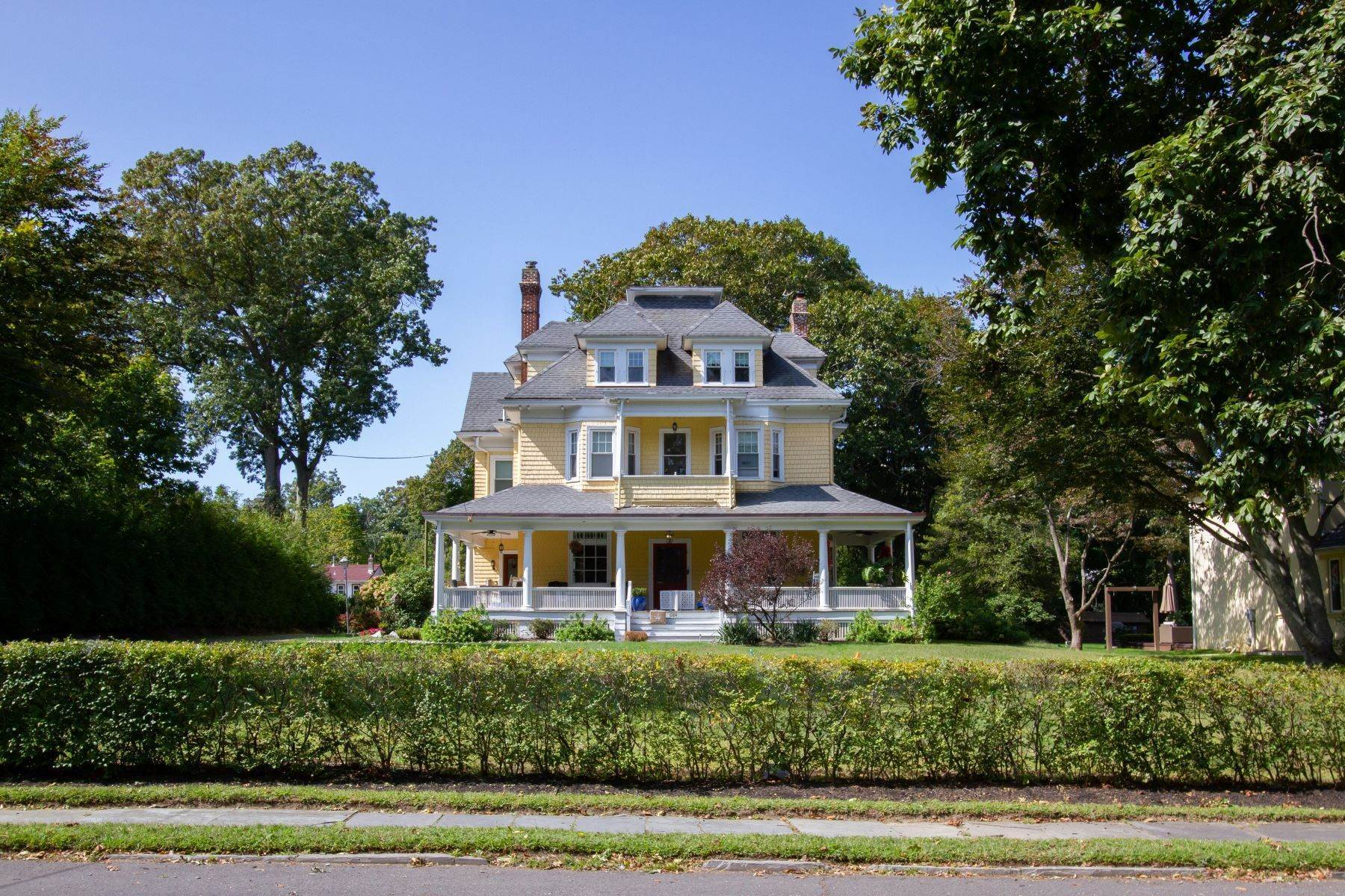 Single Family Homes for Sale at Elegant Victorian Home 684 Westwood Avenue Long Branch, New Jersey 07740 United States