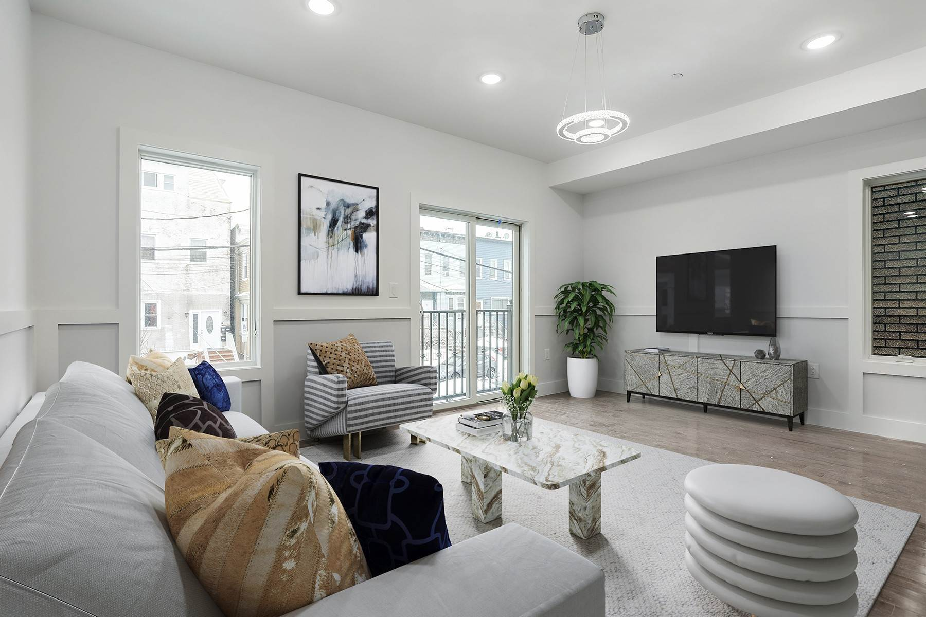 Condominiums for Sale at Welcome home to this brand new constructed 2 bed/ 1.5 bath condo in Jersey City. 66 Poplar Street, Unit 2 Jersey City, New Jersey 07307 United States