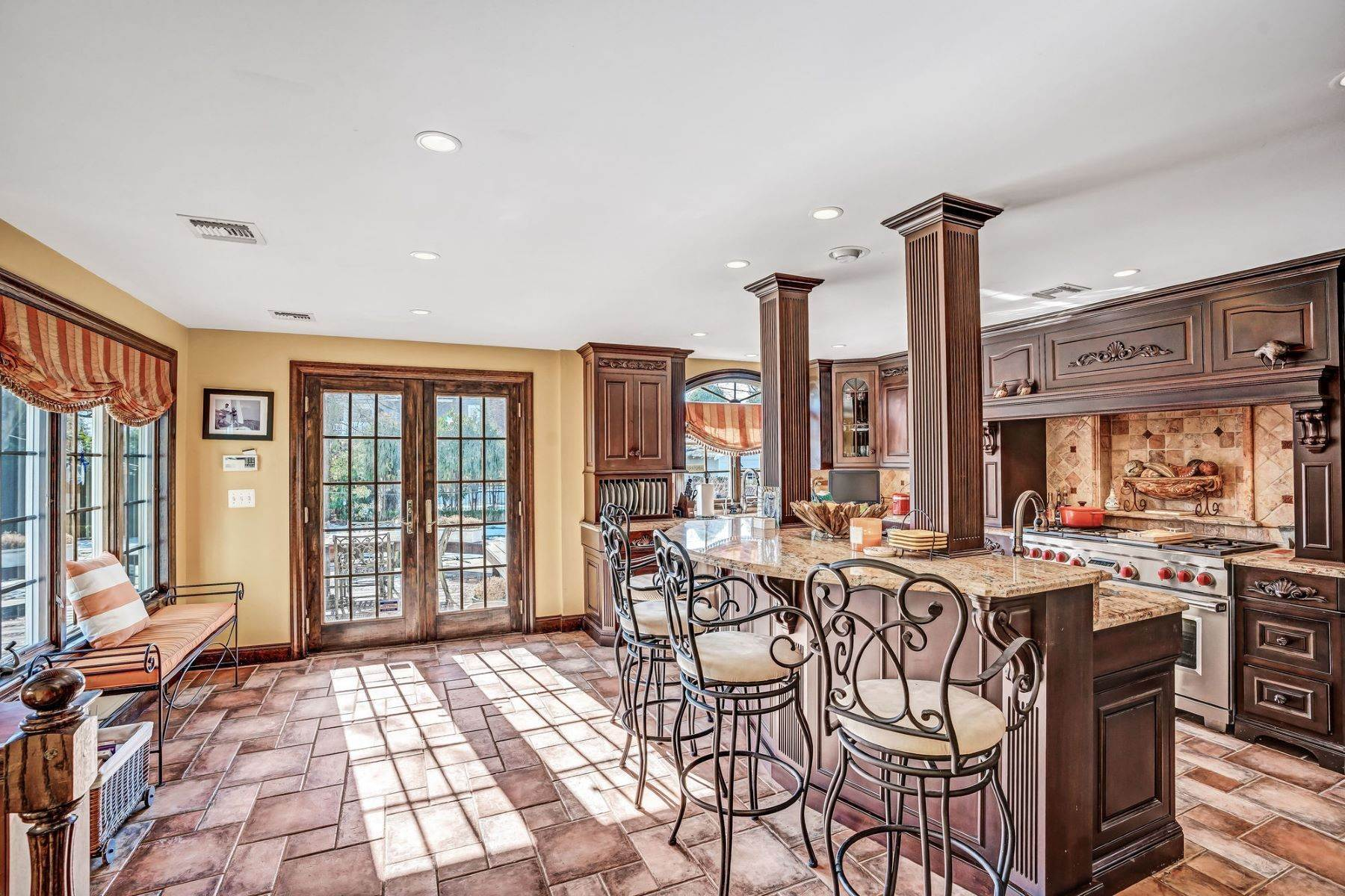 31. Single Family Homes for Sale at Strikingly Beautiful Home 31 Worthington Avenue Spring Lake, New Jersey 07762 United States