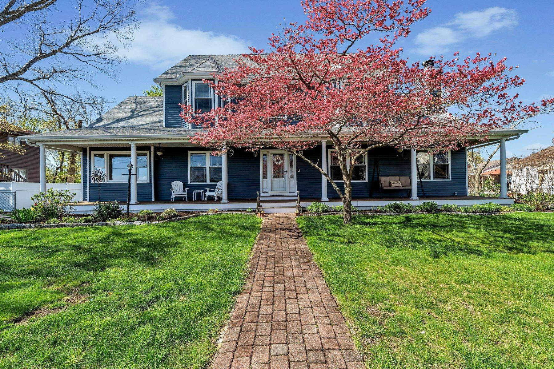 Single Family Homes for Sale at Panoramic Views of the Manasquan River 120 Riverside Drive N Brick, New Jersey 08724 United States