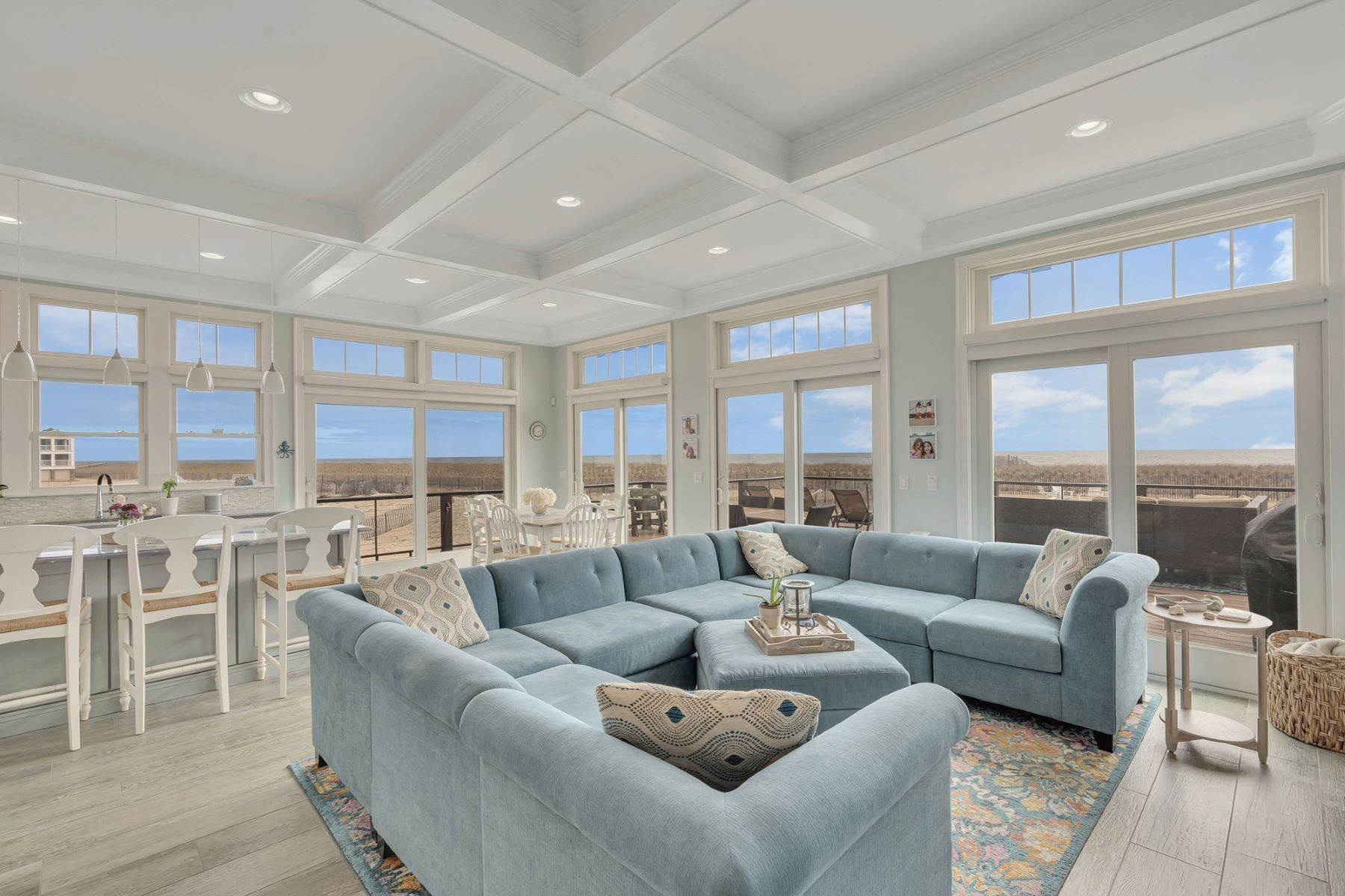 3. Single Family Homes for Sale at Truly Spectacular Oceanfront Home Is Exquisitely Designed 100 Lyndhurst Drive Mantoloking, New Jersey 08738 United States