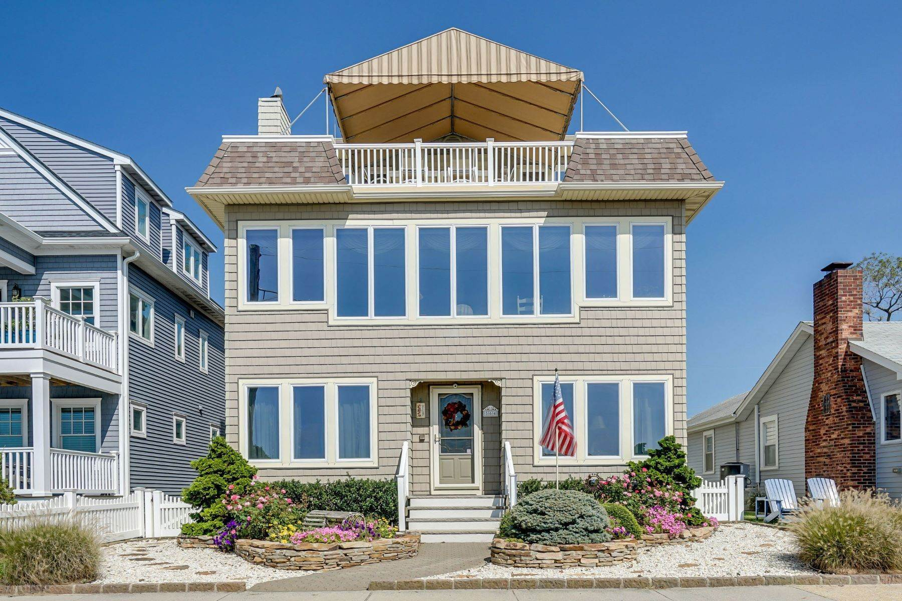 Single Family Homes for Sale at Absolutely Stunning View 564 Riverside Drive Manasquan, New Jersey 08736 United States