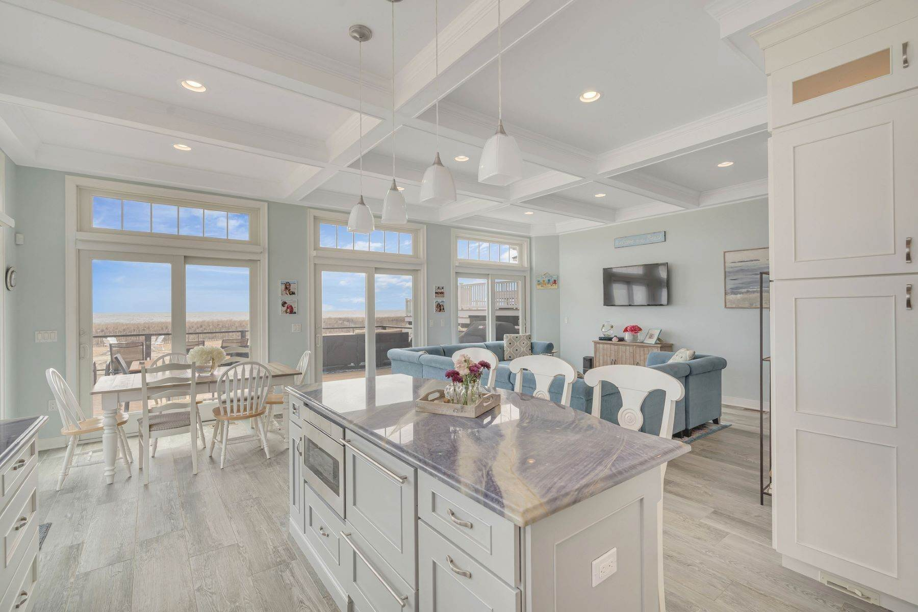 7. Single Family Homes for Sale at Truly Spectacular Oceanfront Home Is Exquisitely Designed 100 Lyndhurst Drive Mantoloking, New Jersey 08738 United States