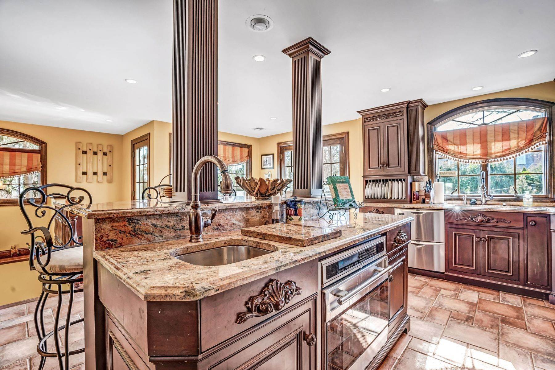 33. Single Family Homes for Sale at Strikingly Beautiful Home 31 Worthington Avenue Spring Lake, New Jersey 07762 United States