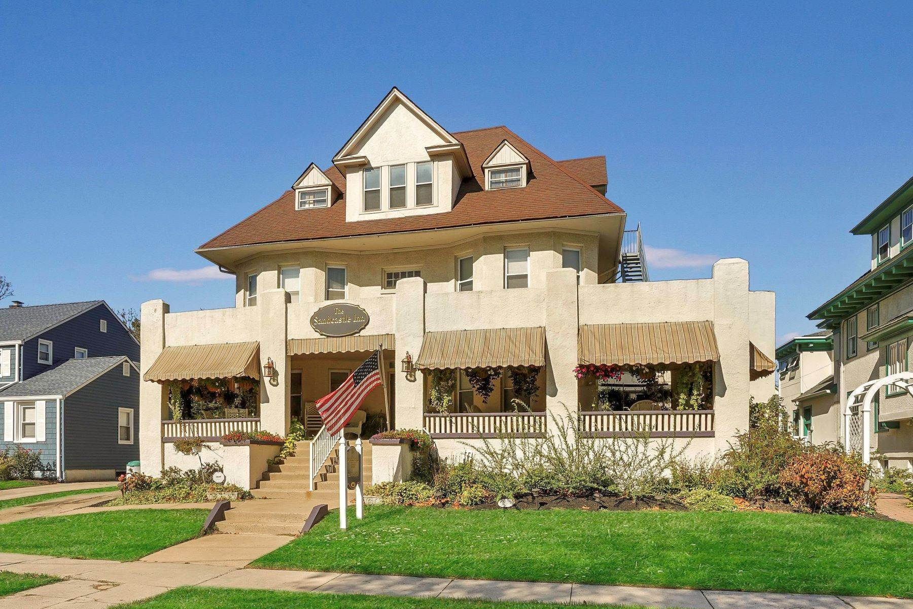 3. Single Family Homes for Sale at Bed and Breakfast in Bradley 204 Third Avenue Bradley Beach, New Jersey 07720 United States