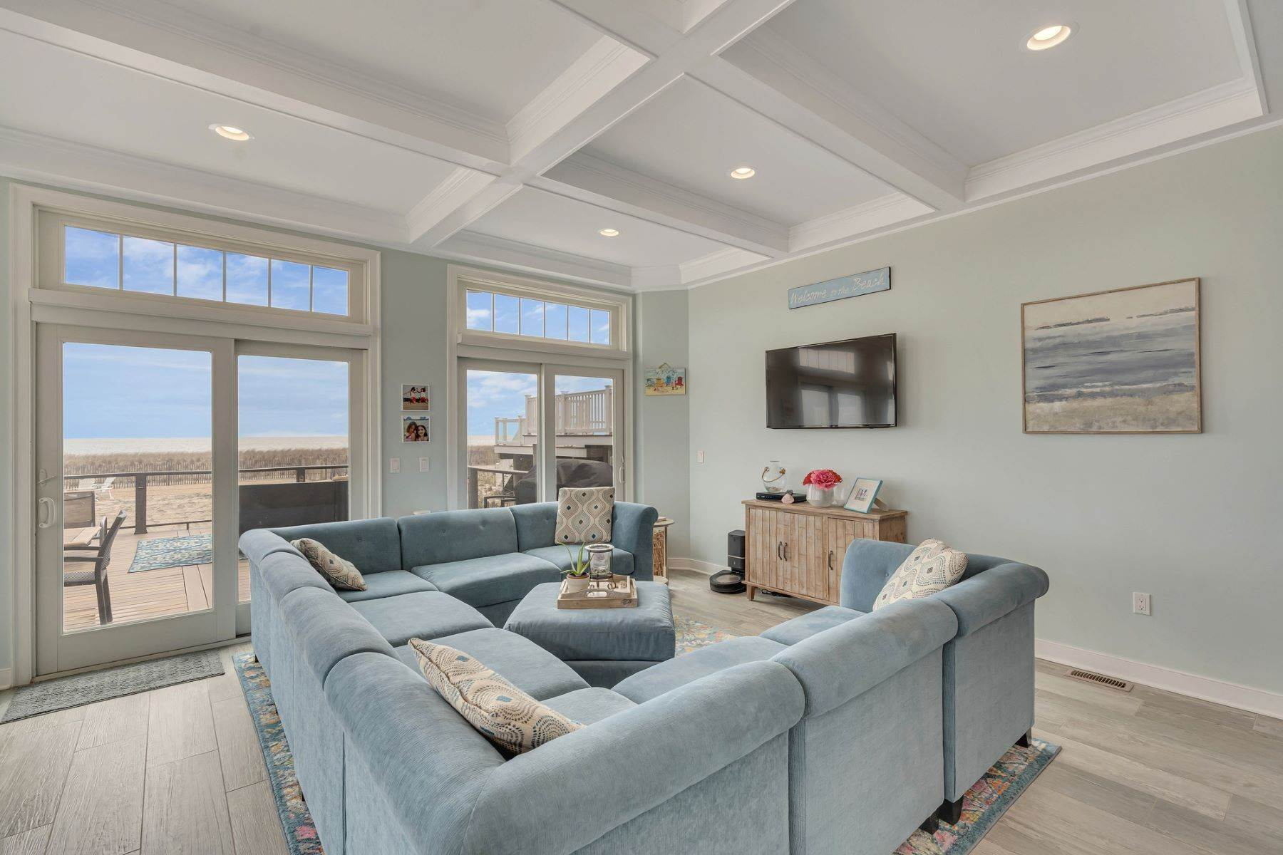 5. Single Family Homes for Sale at Truly Spectacular Oceanfront Home Is Exquisitely Designed 100 Lyndhurst Drive Mantoloking, New Jersey 08738 United States