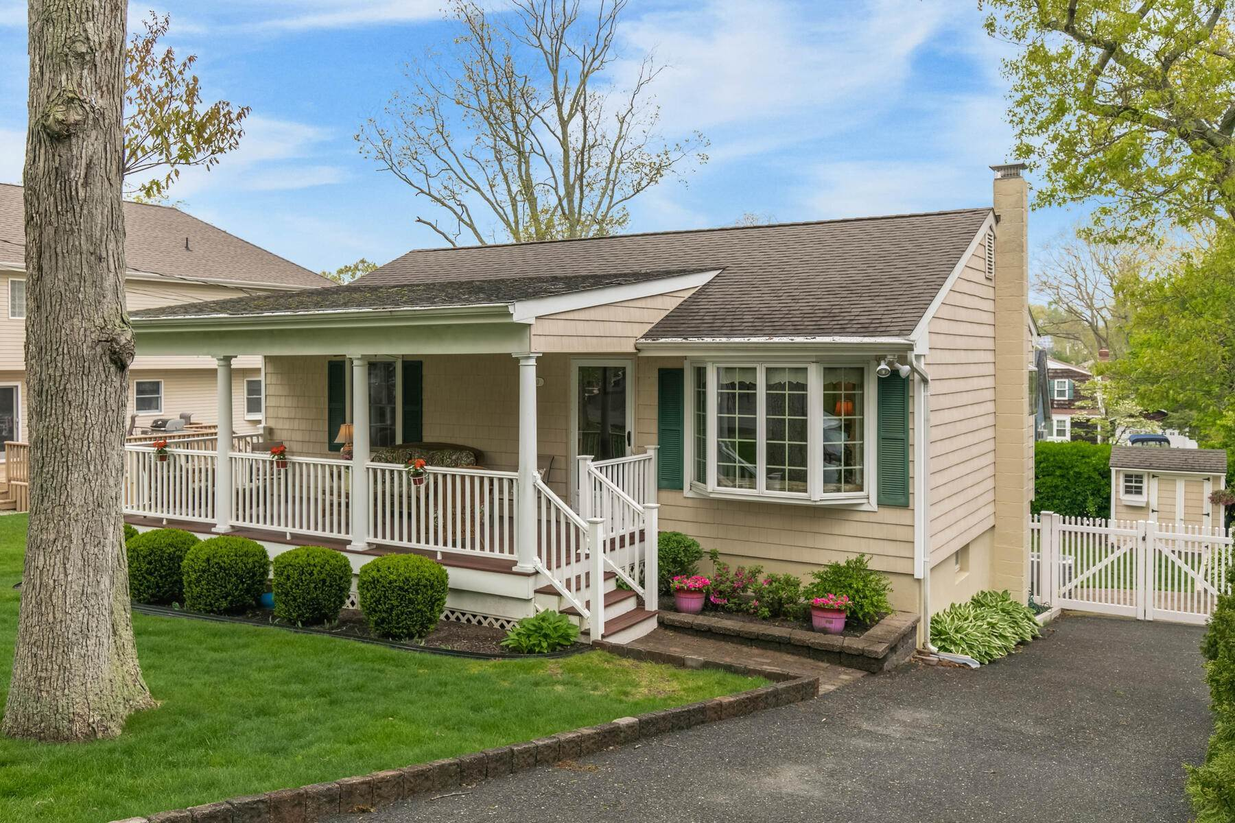 Single Family Homes for Sale at Manasquan Shores Charmer 1210 Bayberry Road Wall, New Jersey 08736 United States