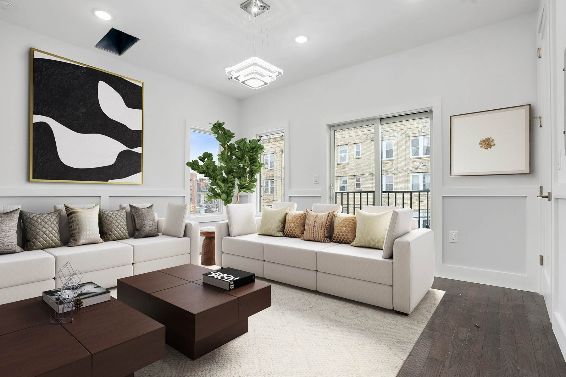 Condominiums for Sale at Welcome home to this brand new constructed constructed 1 bed/ 1 bath condo. 66 Poplar Street, Unit 5 Jersey City, New Jersey 07307 United States
