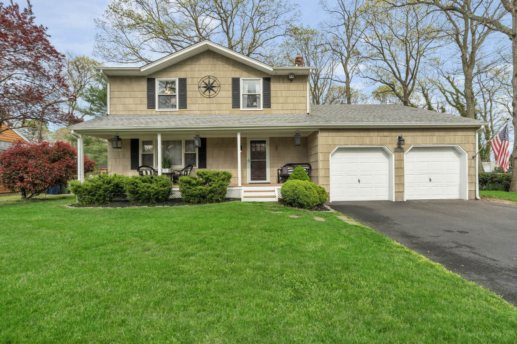 2. Single Family Homes for Sale at Delightful Colonial 41 Pinewood Drive Neptune, New Jersey 07753 United States