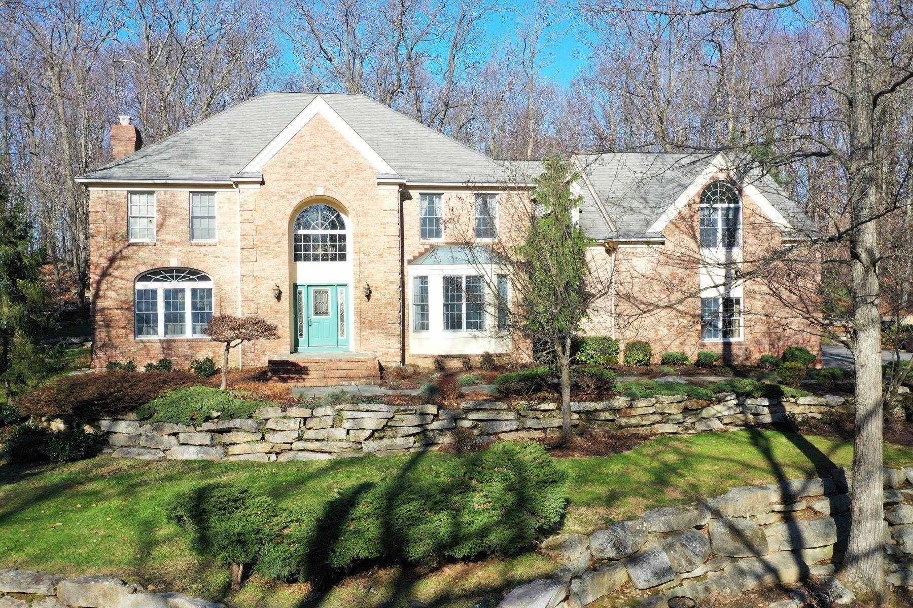 Single Family Homes for Sale at Striking Colonial with Dramatic Curb Appeal 17 Abedim Way Long Valley, New Jersey 07853 United States