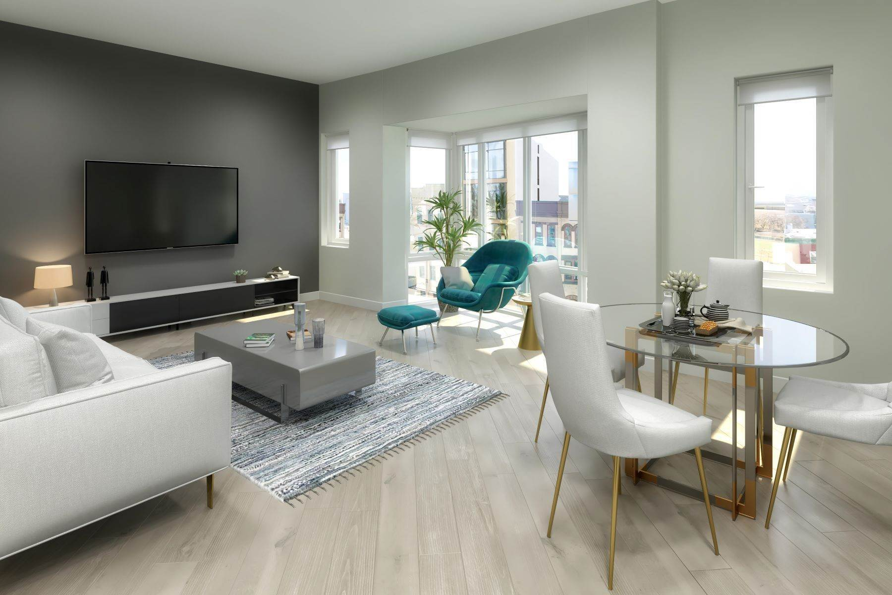 Condominiums for Sale at Welcome to downtown Jersey City's newest luxury boutique condominium building, 332 Newark Avenue, Unit 2C Jersey City, New Jersey 07302 United States