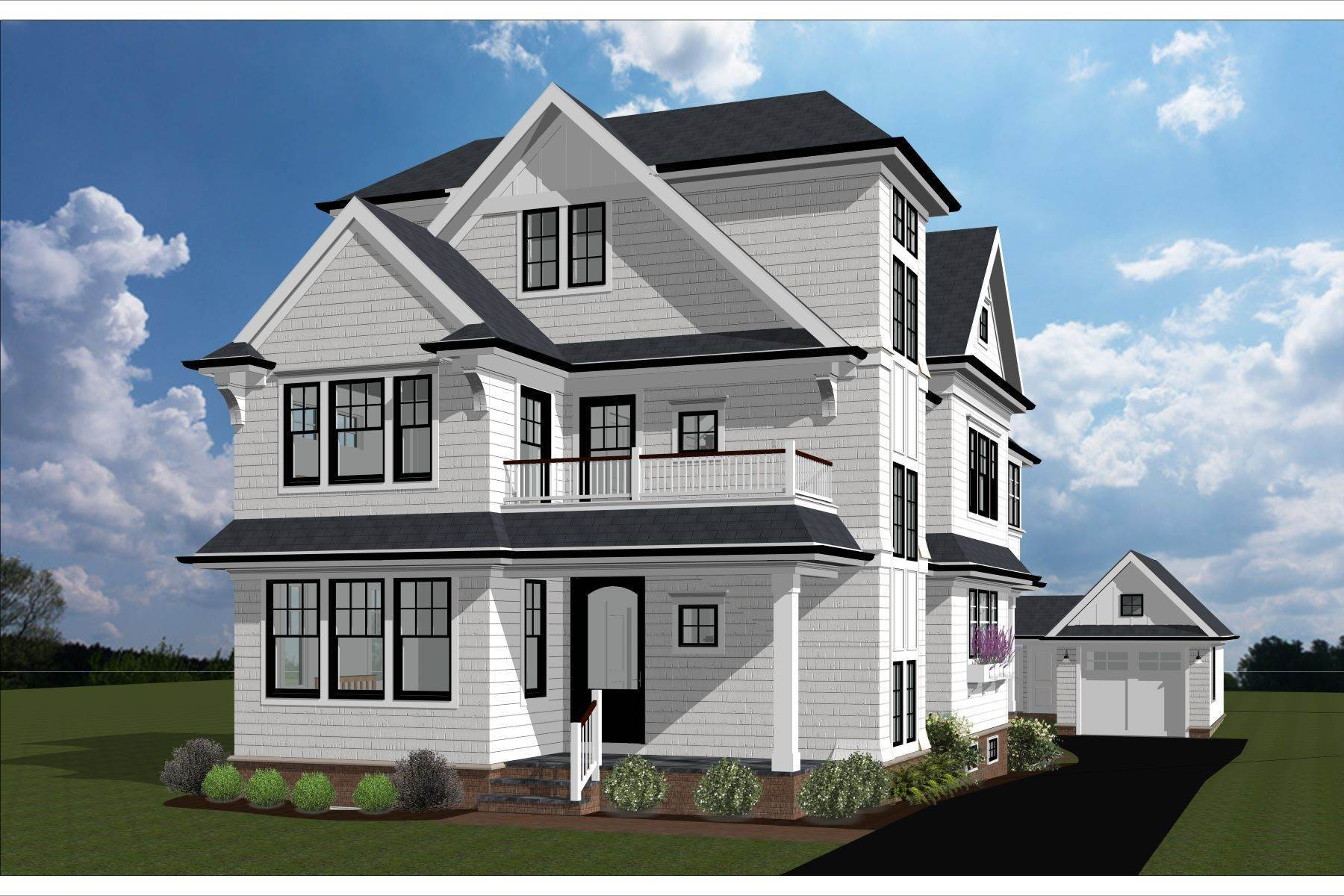 Single Family Homes at New Construction in Sea Girt 115 Beacon Boulevard Sea Girt, New Jersey 08750 United States