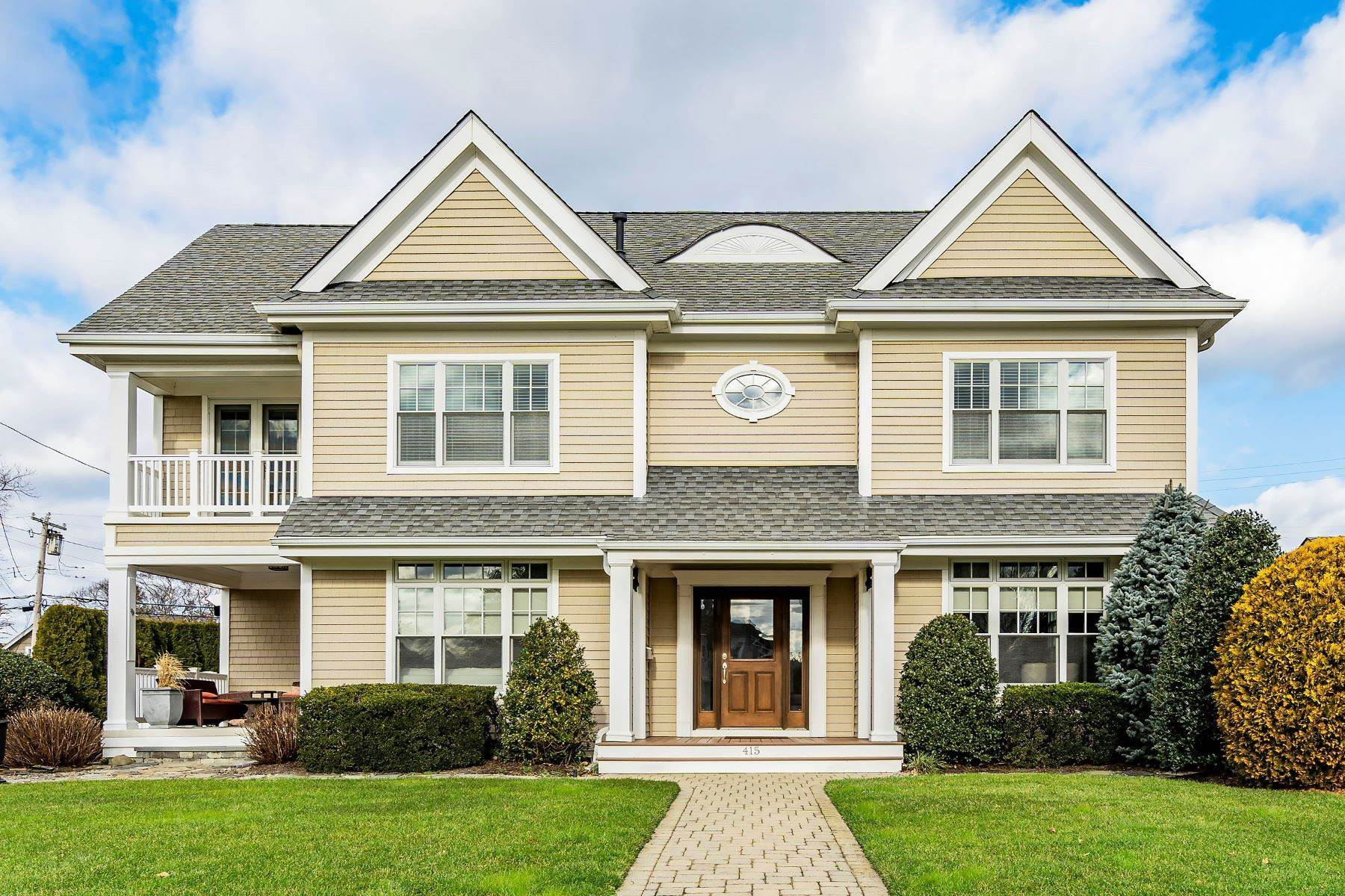 Single Family Homes at Peaceful, Private and Perfect 415 Chicago Boulevard Sea Girt, New Jersey 08750 United States