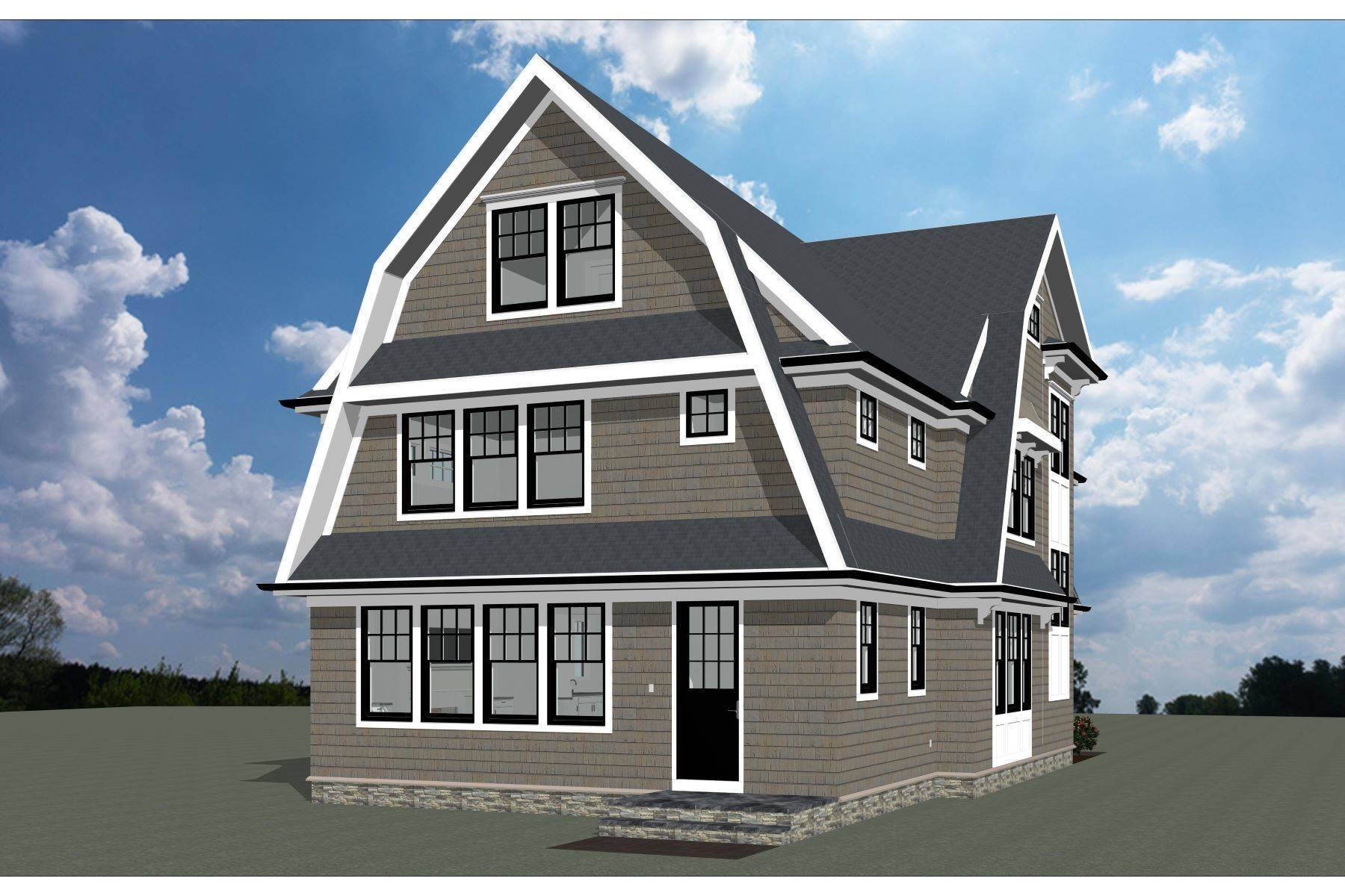 2. Single Family Homes for Sale at New Construction in Sea Girt 316 Trenton Boulevard Sea Girt, New Jersey 08750 United States