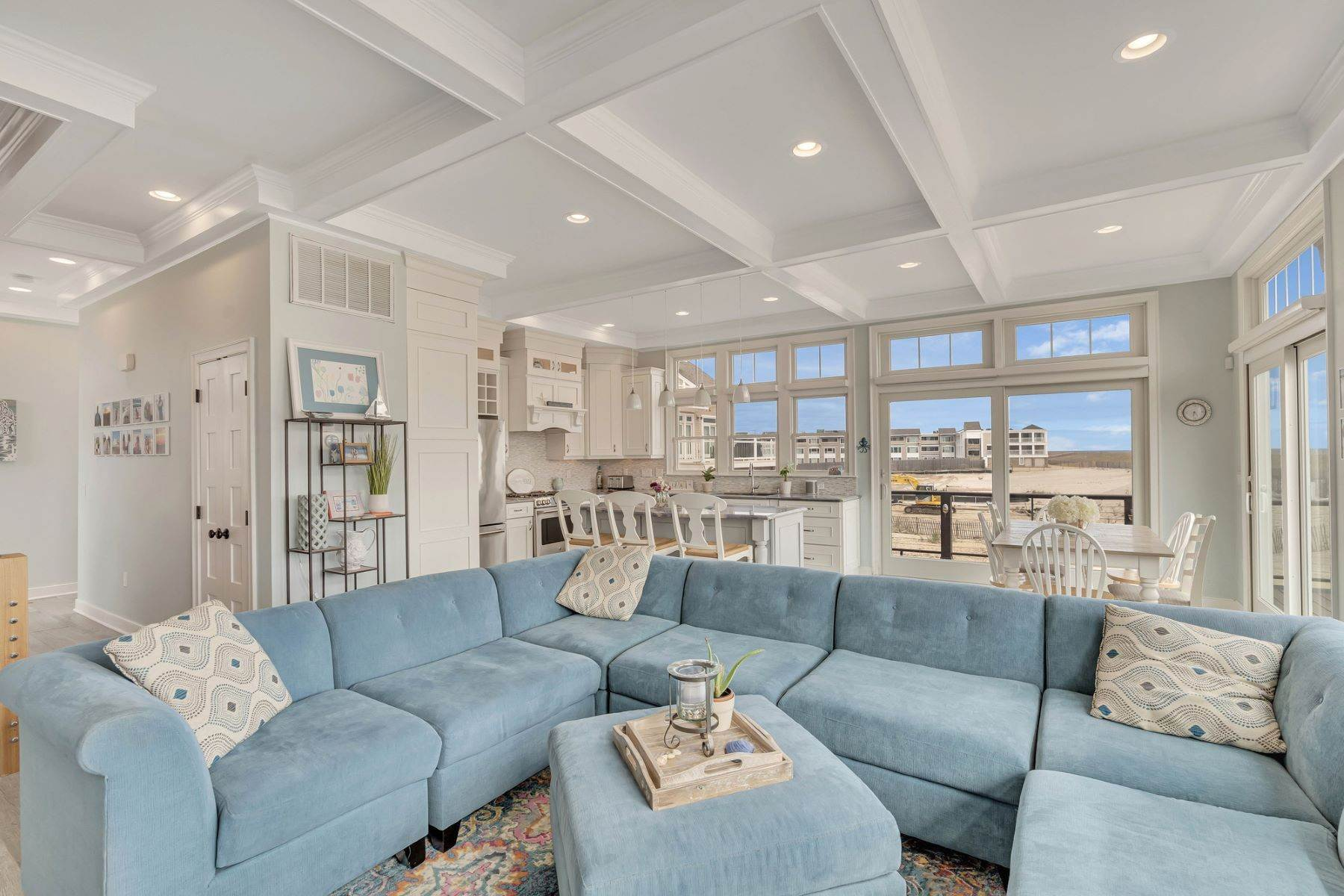 4. Single Family Homes for Sale at Truly Spectacular Oceanfront Home Is Exquisitely Designed 100 Lyndhurst Drive Mantoloking, New Jersey 08738 United States